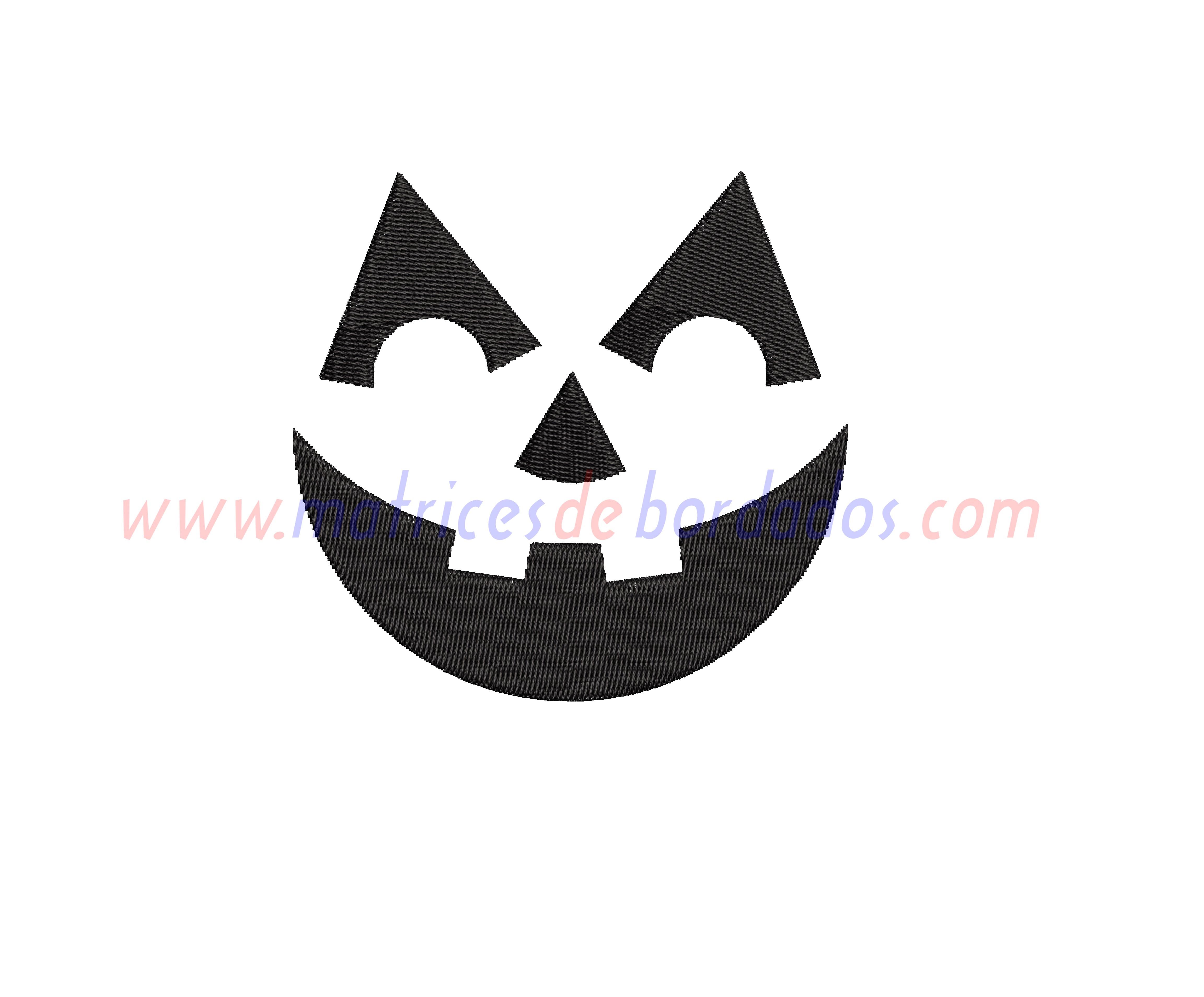 PS85UW - Cara de Calabaza Halloween
