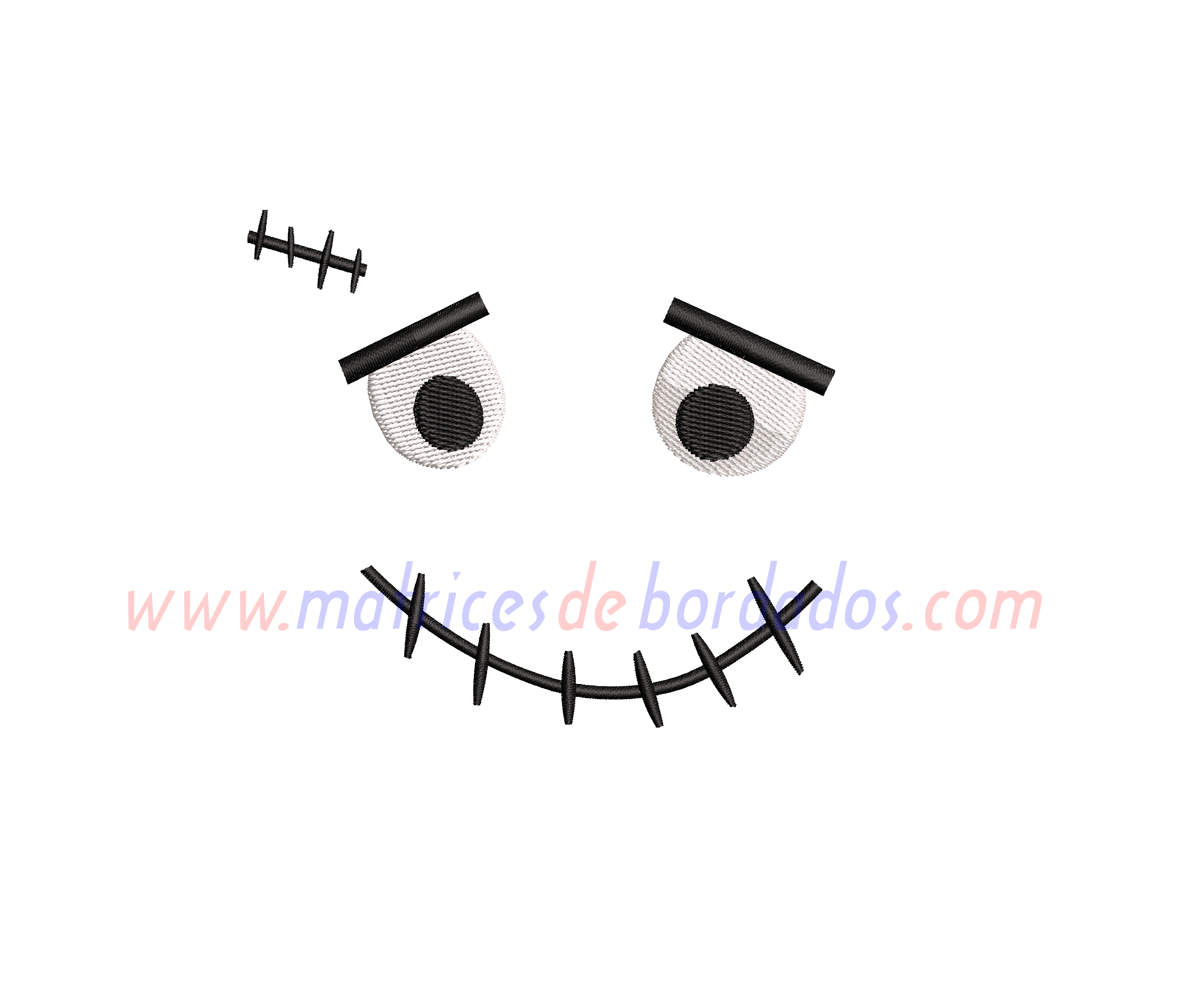 YL13BD - Cara de monstruo Franskenstein Halloween