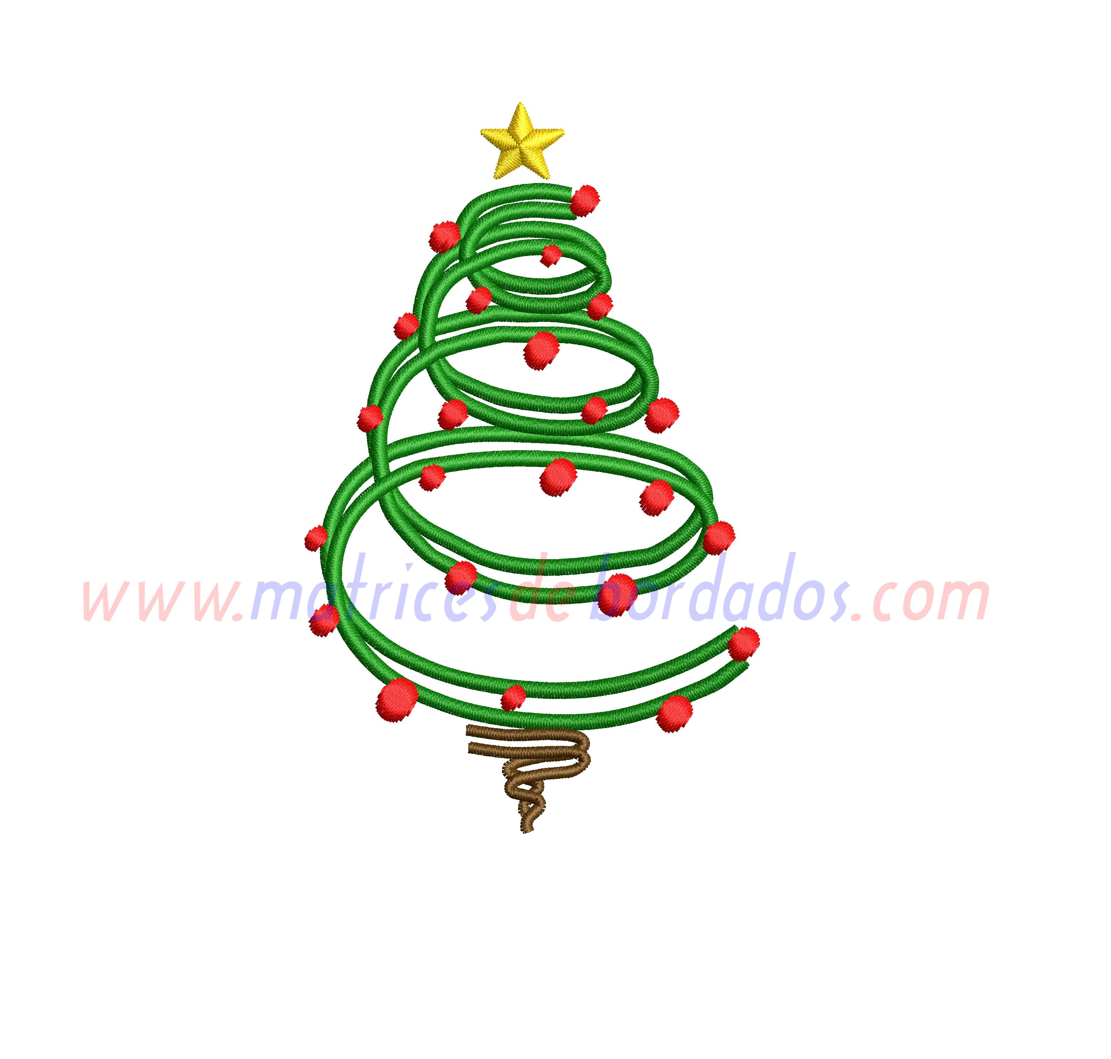 PM98YJ - Arbol de Navidad en espiral
