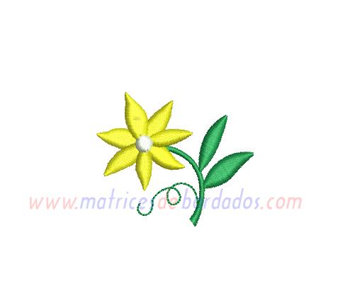 QW92QQ - Flor con 7 pétalos