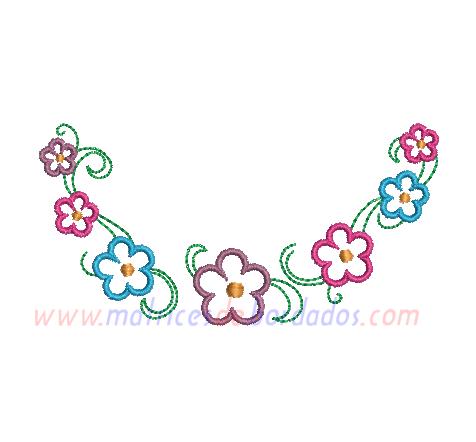 XY67KR - Flores de decoración