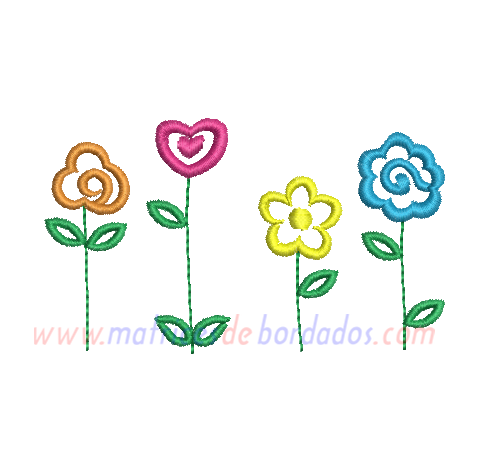 TV75KT - Flores de colores