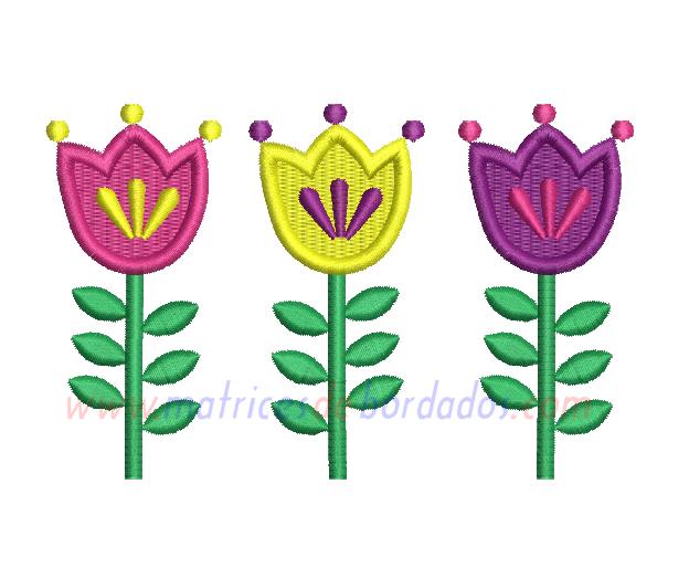 ZT82RD - Tulipanes
