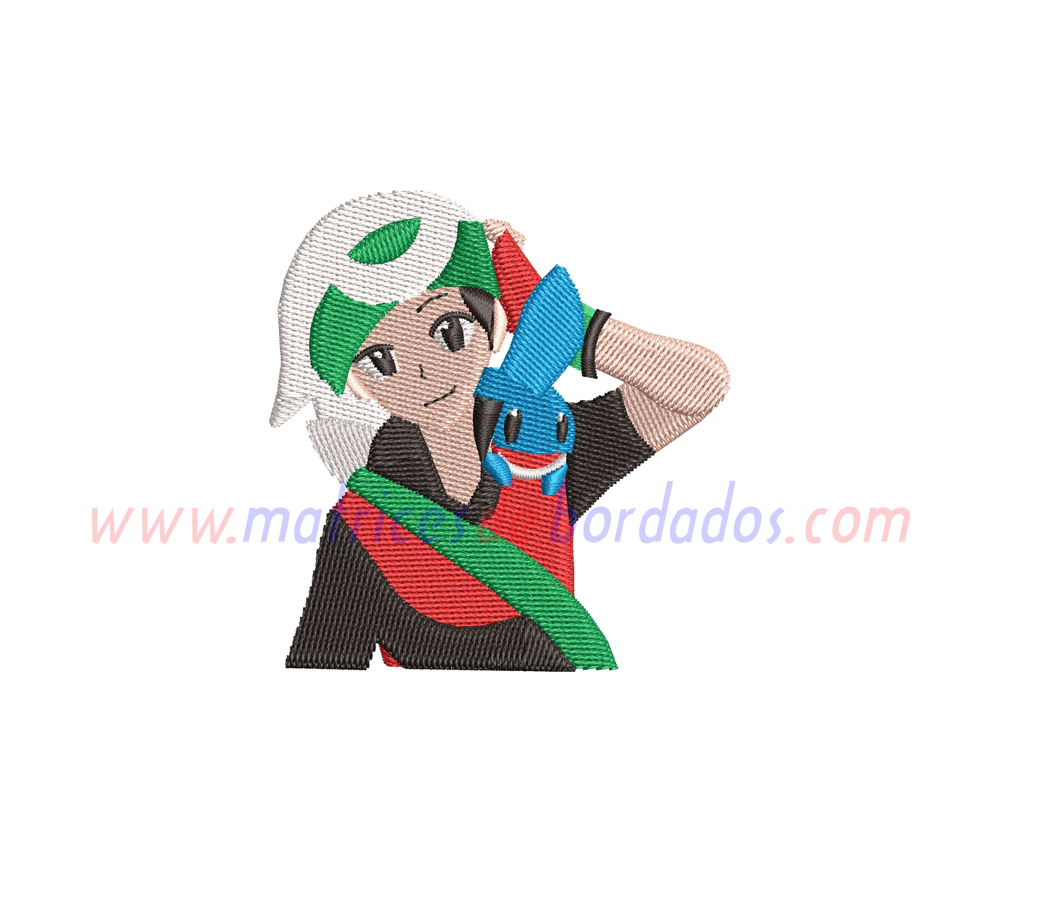 WY18ME - Bruno y Mudkip de Pokemon
