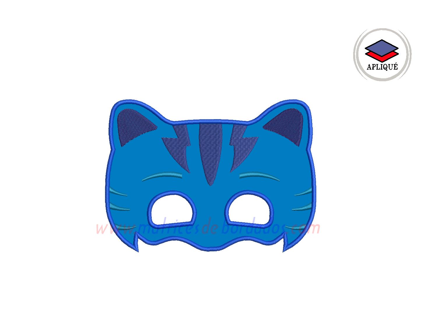 LL87YB - Máscara de Catboy de PJ Mask