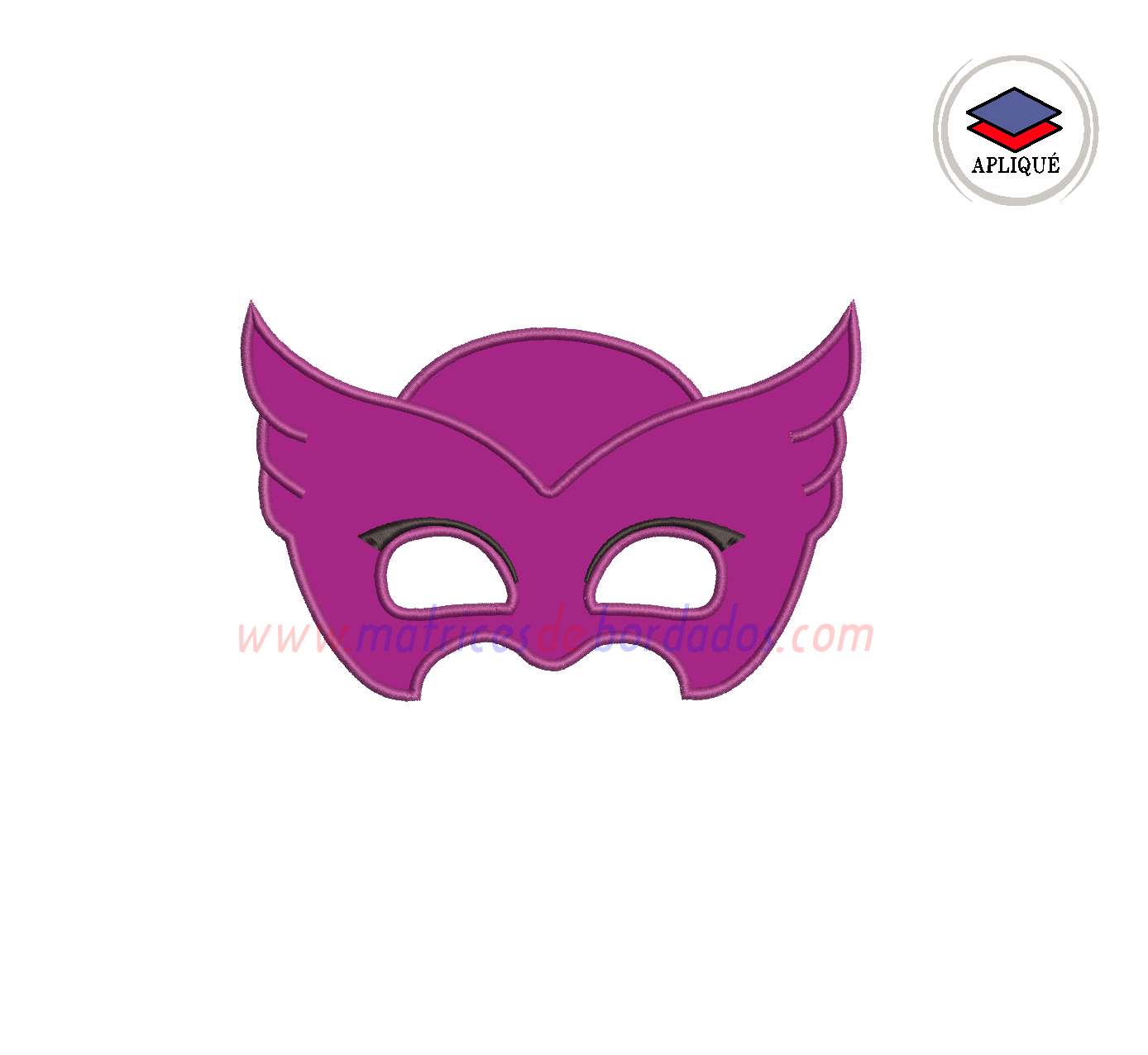 WY29RW - Máscara de Owlette de PJ Mask
