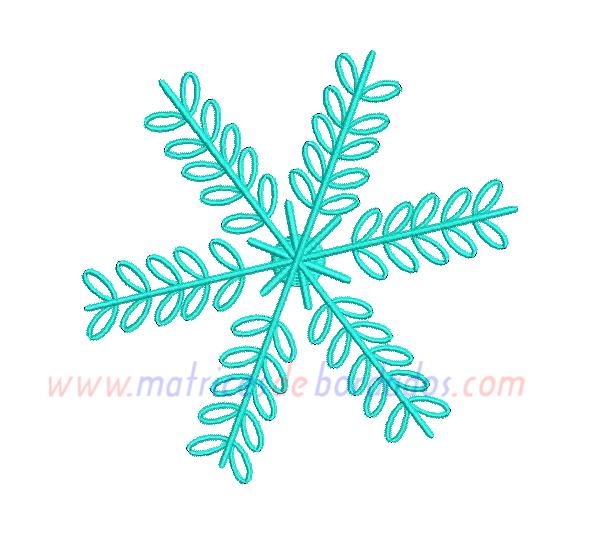 JY48GF - Copo de nieve