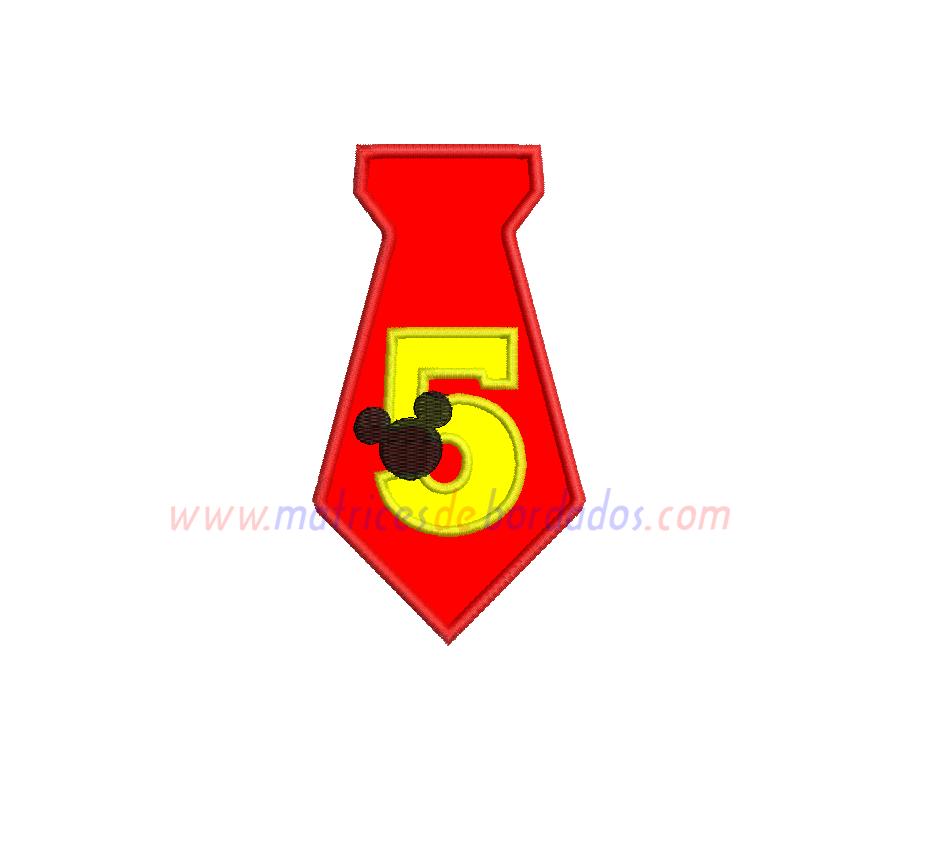 EX47FF - Número cinco Mickey