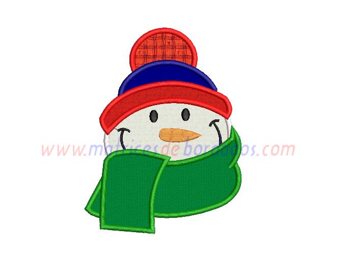 MX74PN - Muñeco de nieve