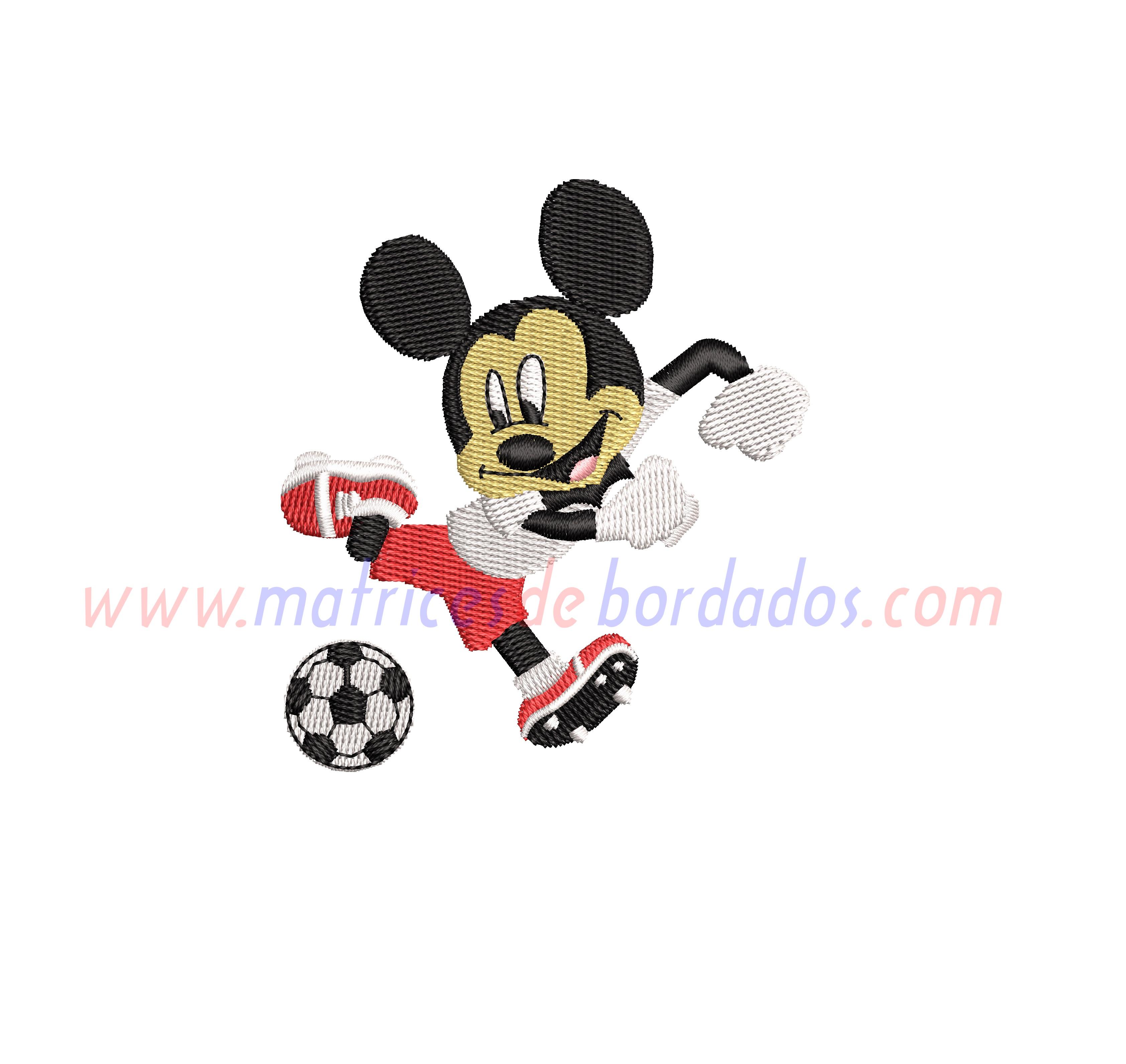 ZB28SH - Mickey fútbol