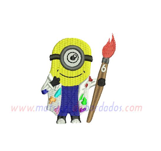 DY43KR - Minion pintor