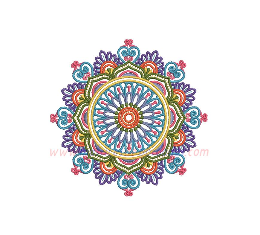 YZ86VN - Mandala