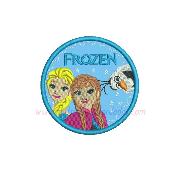 WR84YS - Frozen en Apliqué