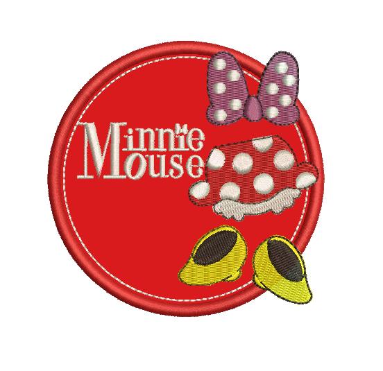 UQ47RN - Minnie en Apliqué
