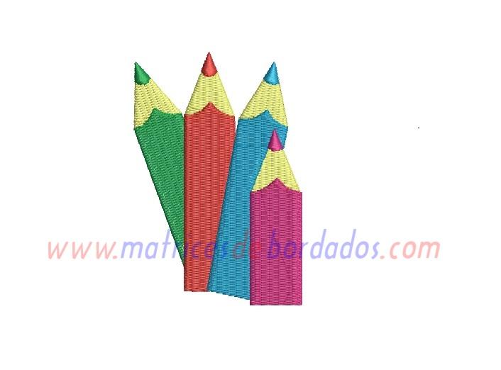 DL73QQ - Cuatro lápices