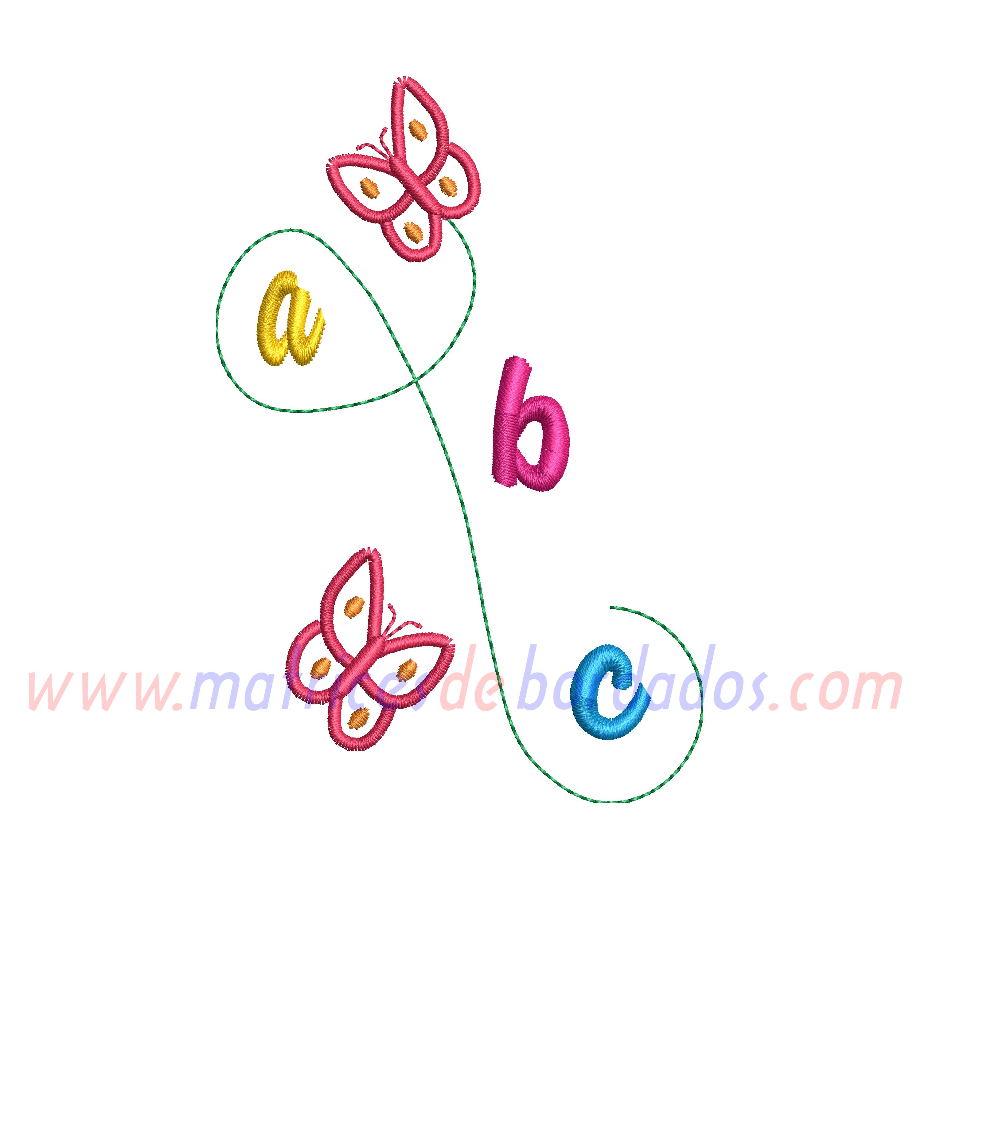 XQ12VN - Abc mariposa