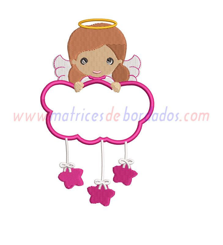 RW12BE - Angel de la guarda niña