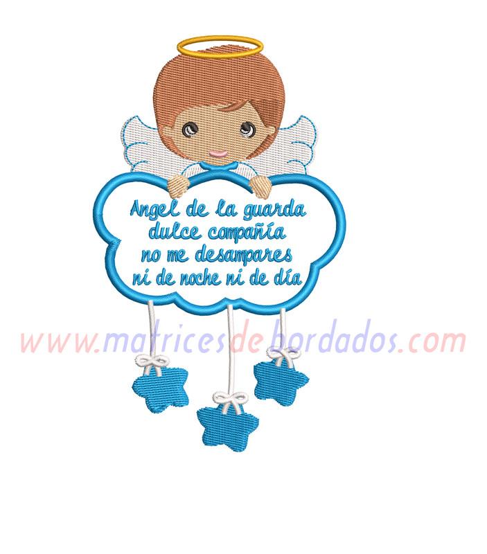 PP14NM - Angel de la guarda niño