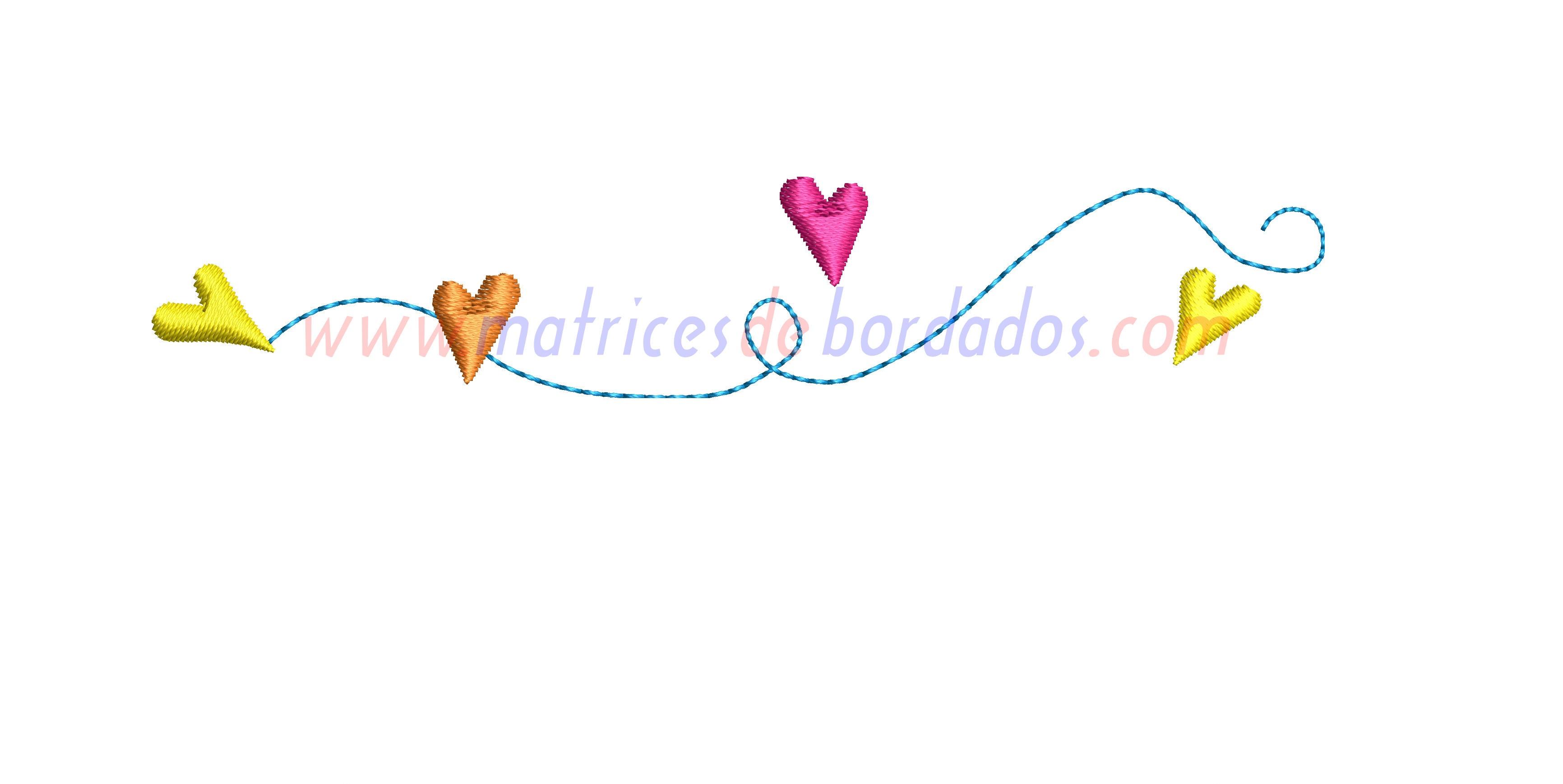 MM61ZV - Camino de corazones