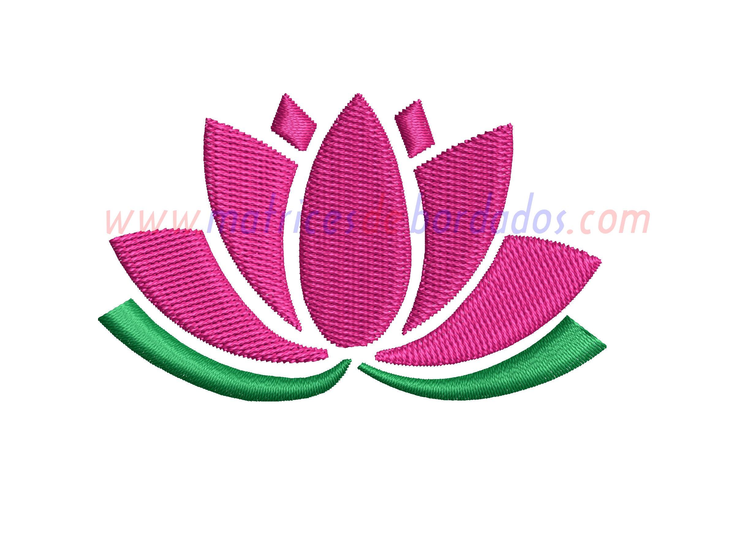 NK72ZN - Flor de loto