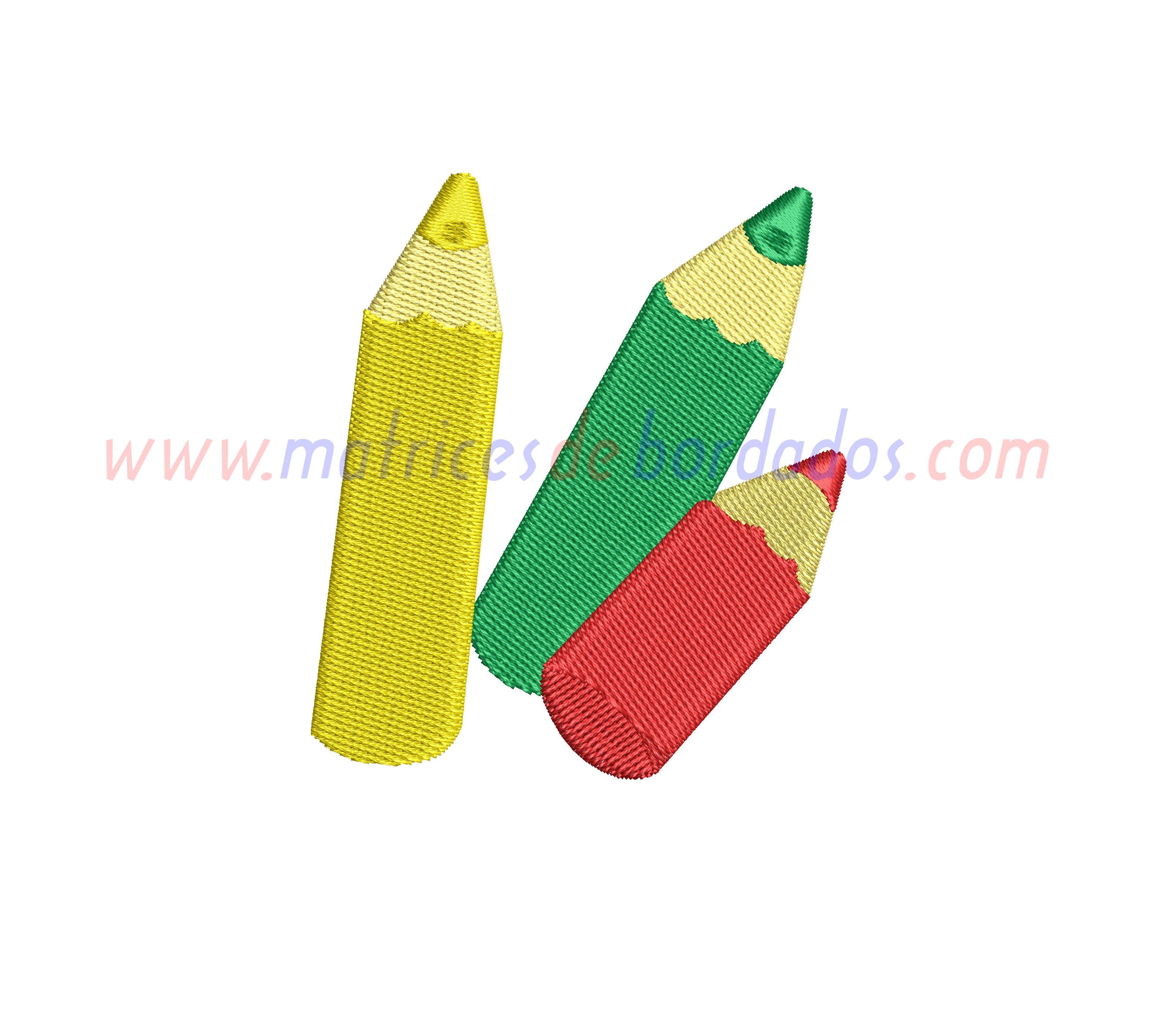 HF21WC - Lápices de colores