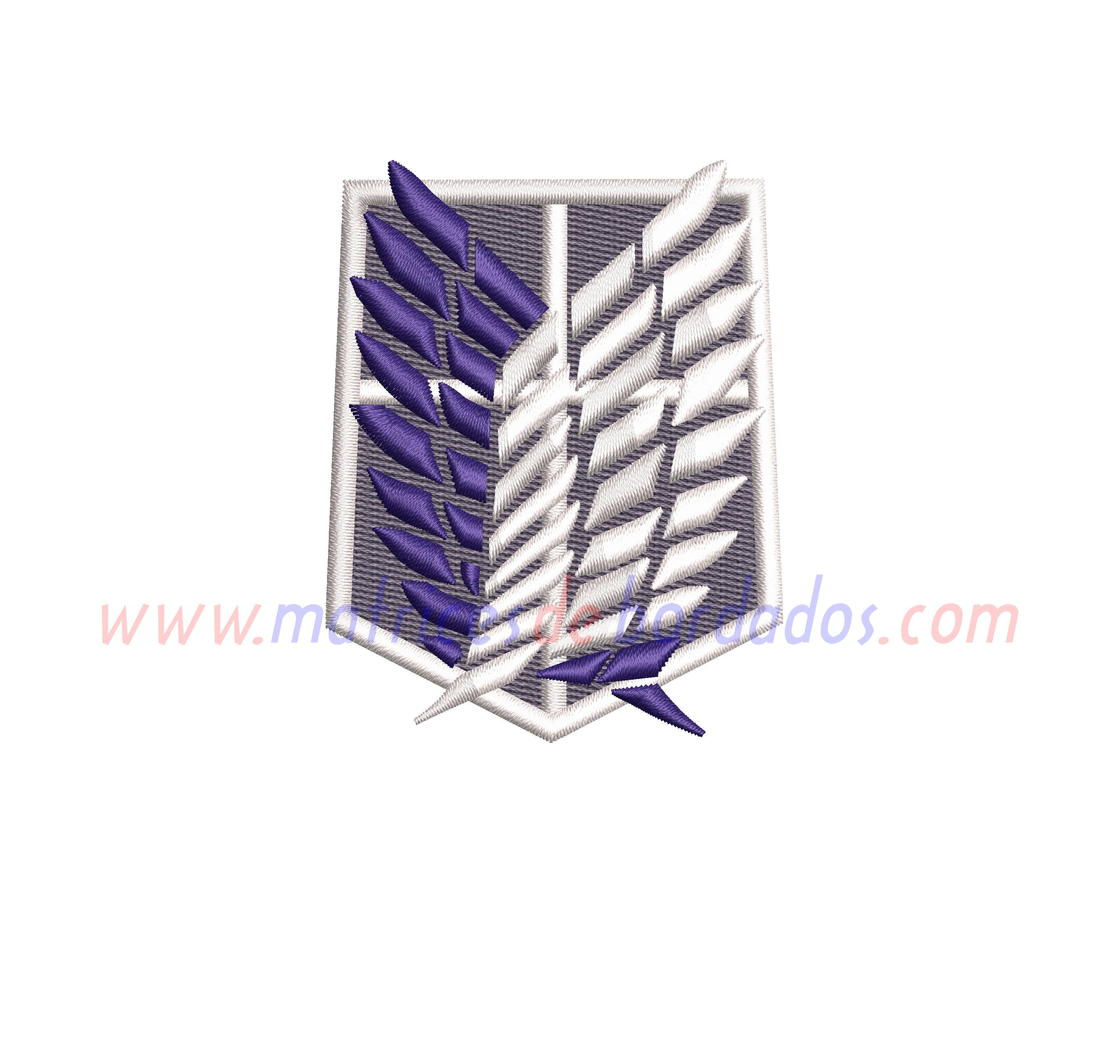 XA36AN - Legión de reconocimiento Shingeki no Kyojin
