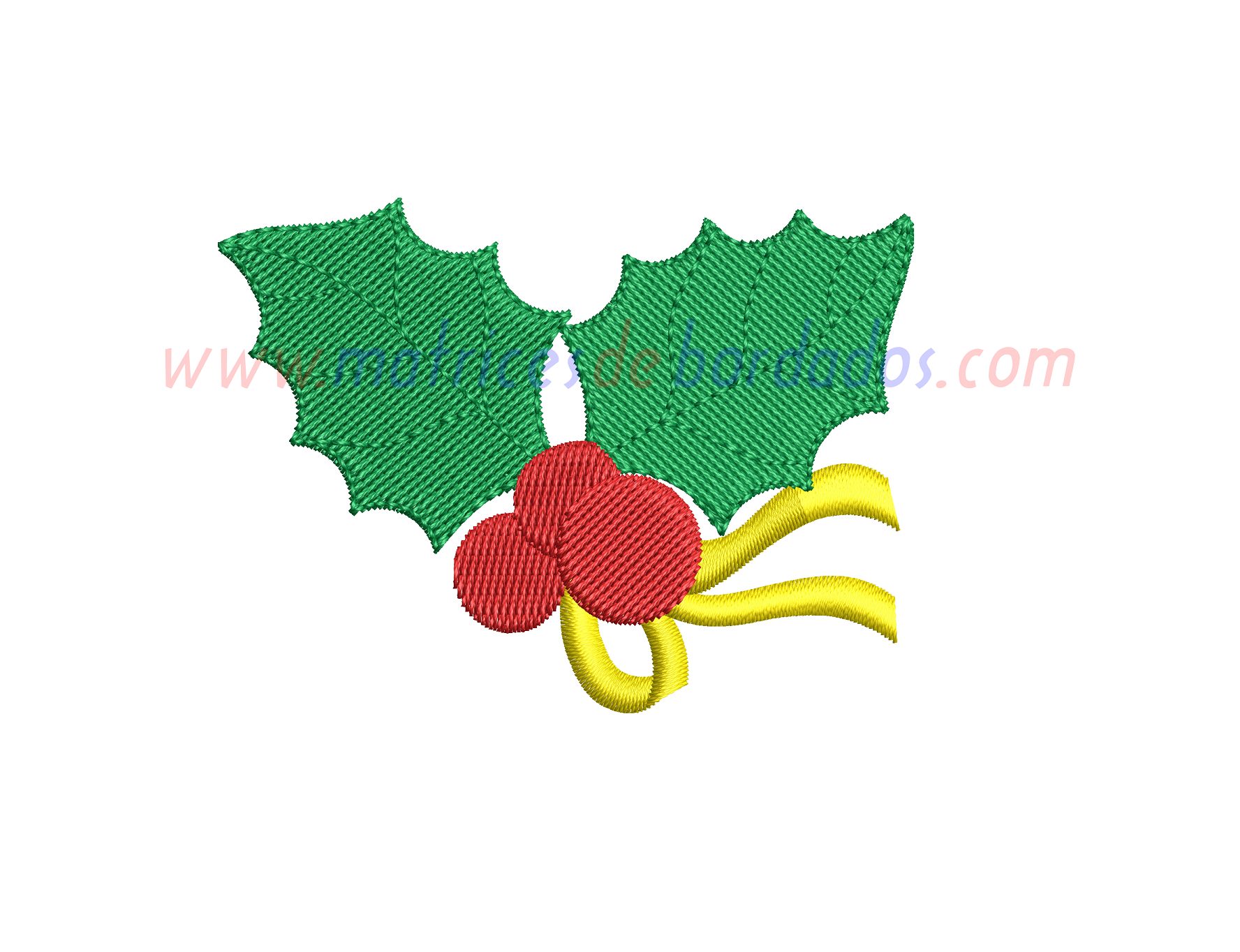 DM71PN - Muérdago Navidad