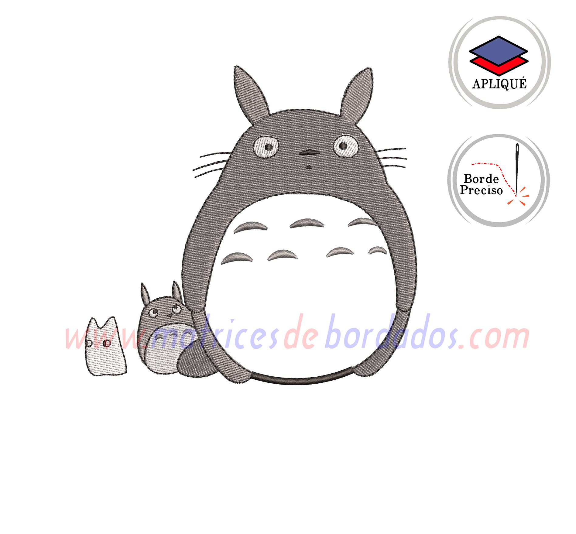 KZ78YT - Totoro Apliqué