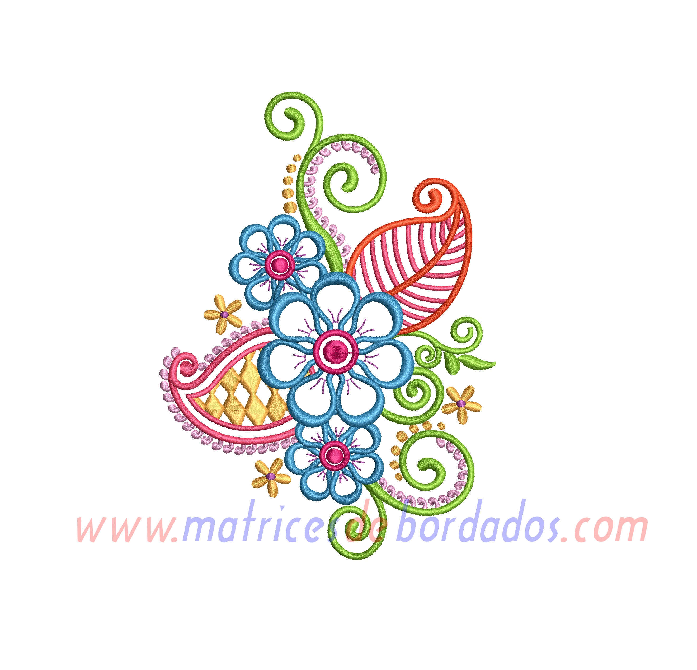 DW61ZW - Diseño Floral