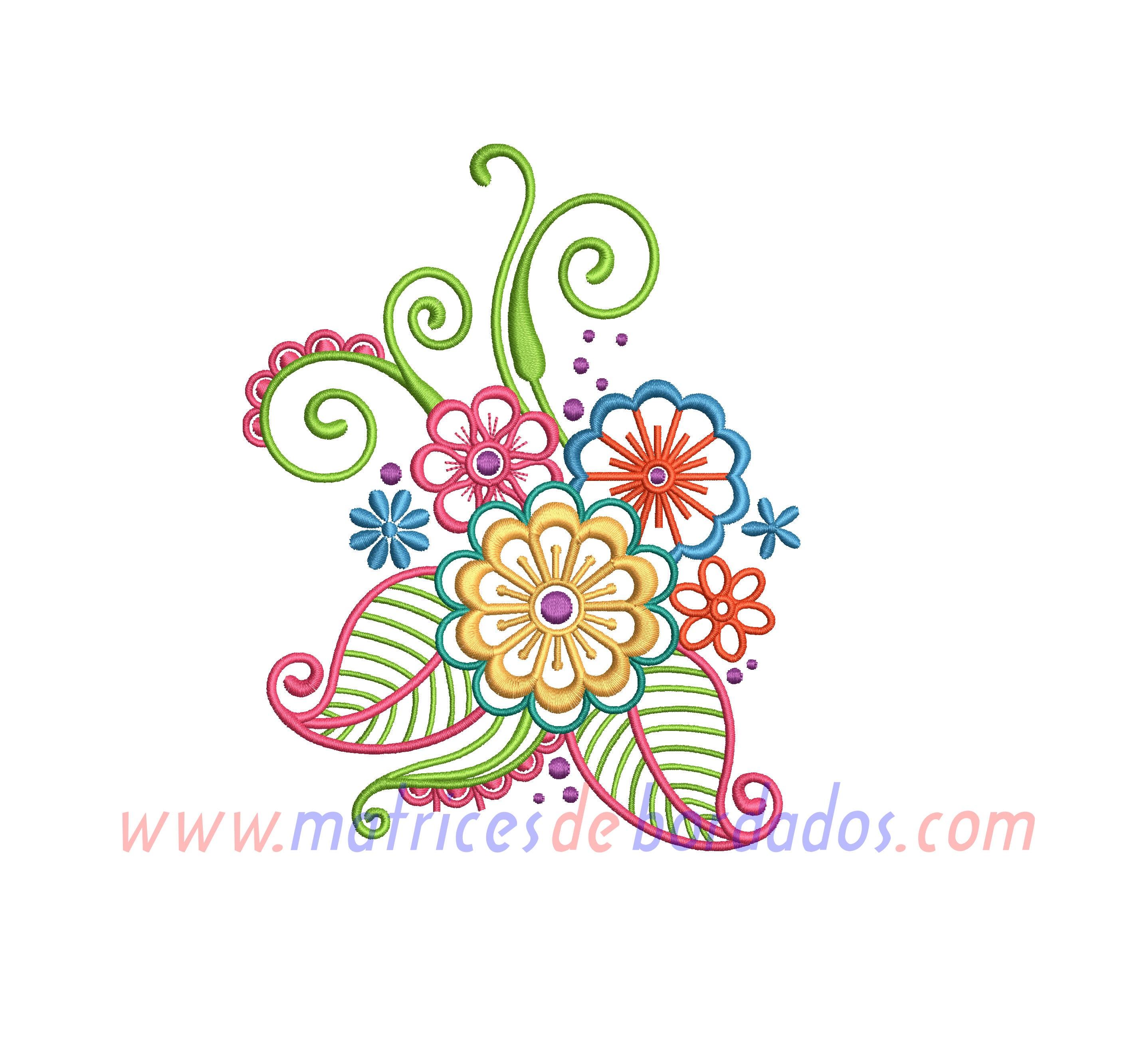 CF61JA - Diseño Floral