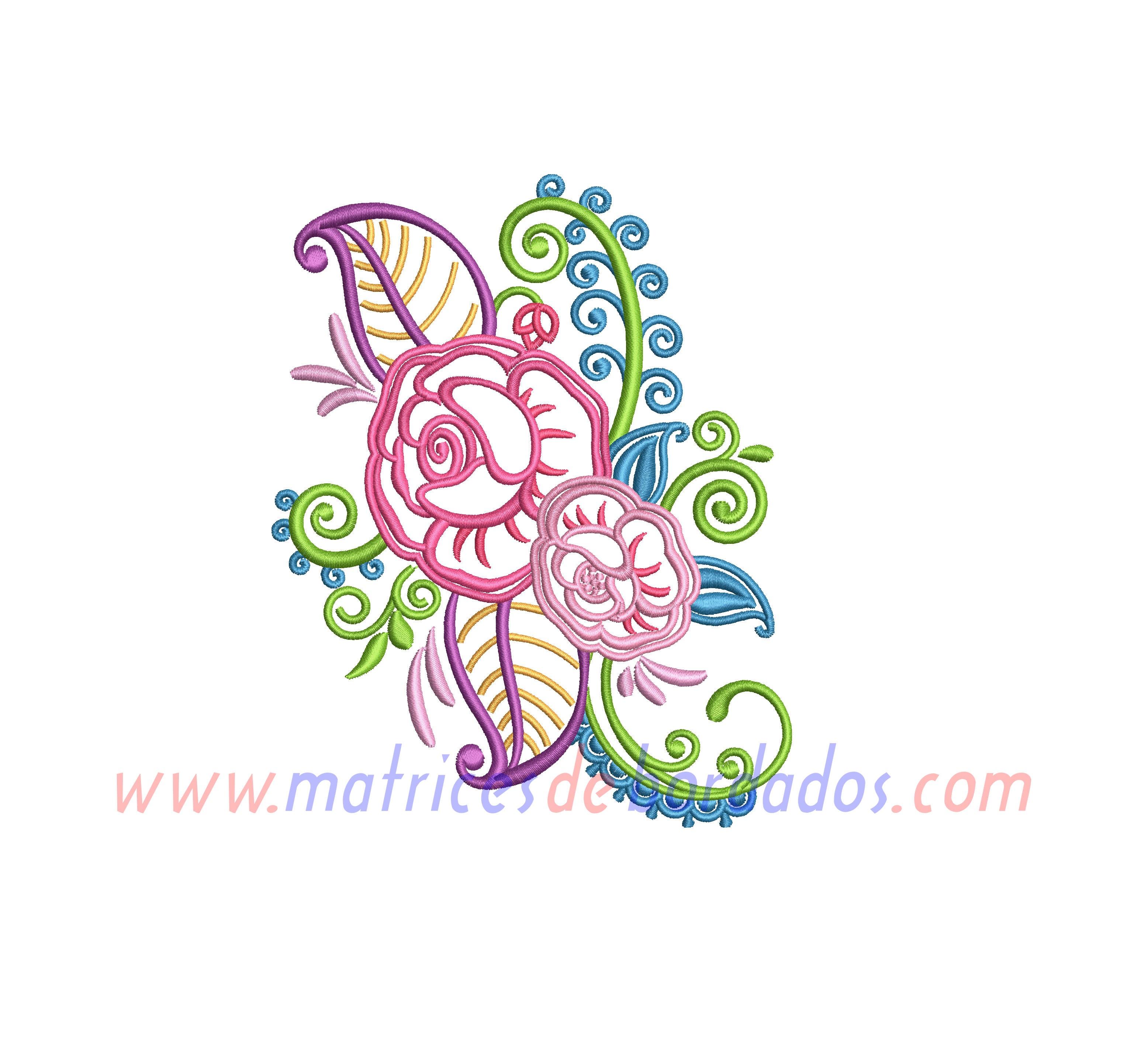 SR14ZW - Diseño Floral