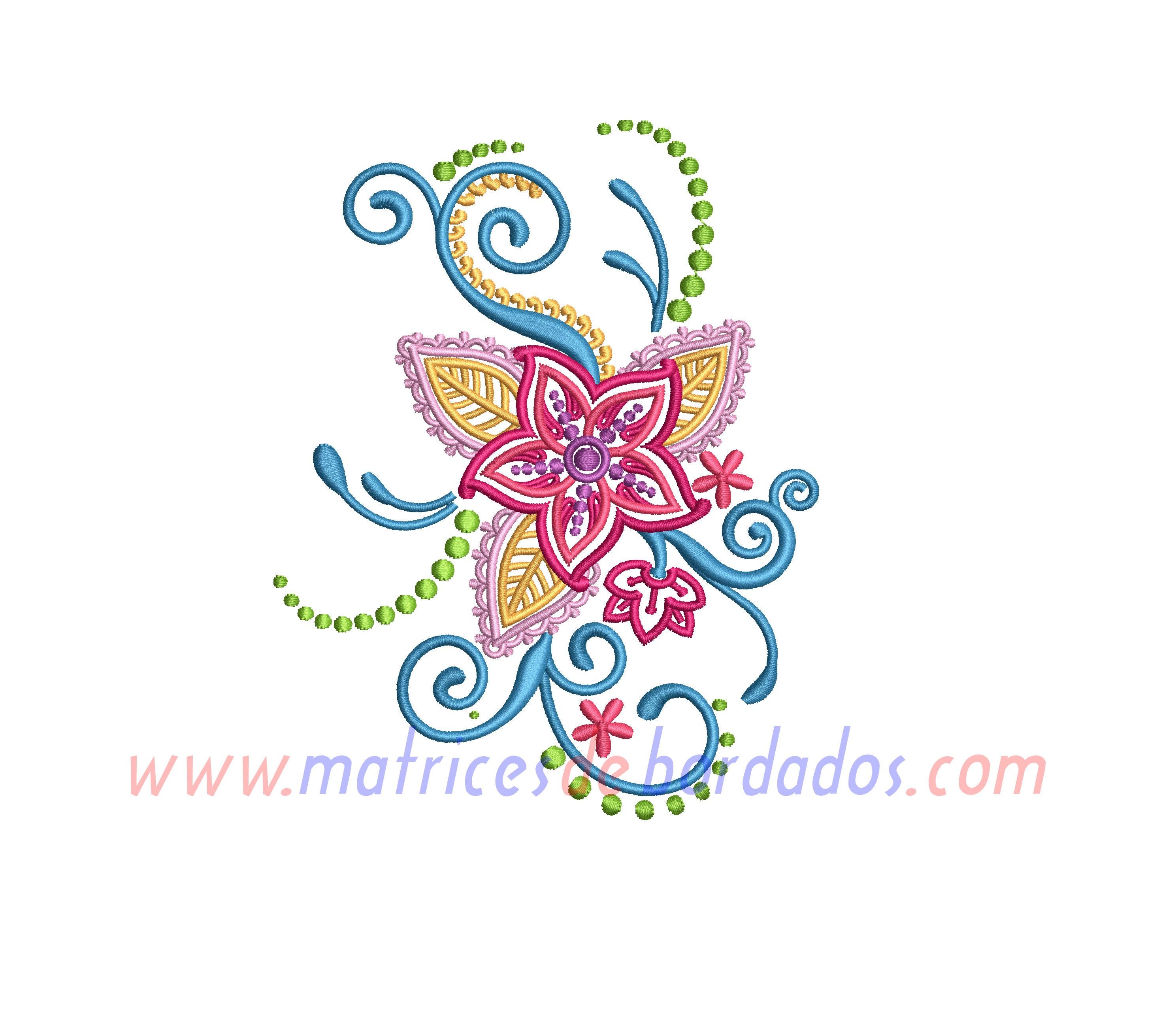 RE48AL - Diseño Floral