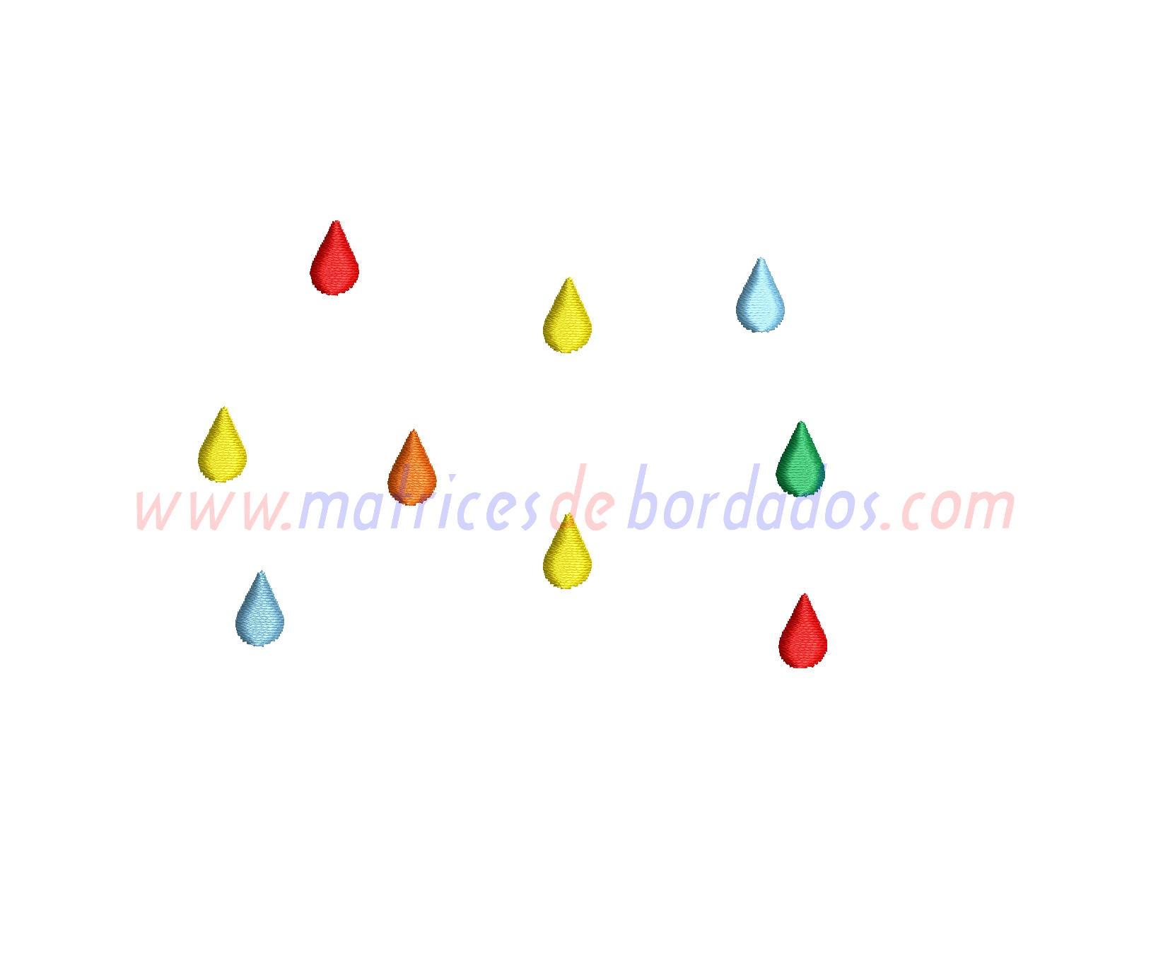 PK71WH - Gotas de lluvia