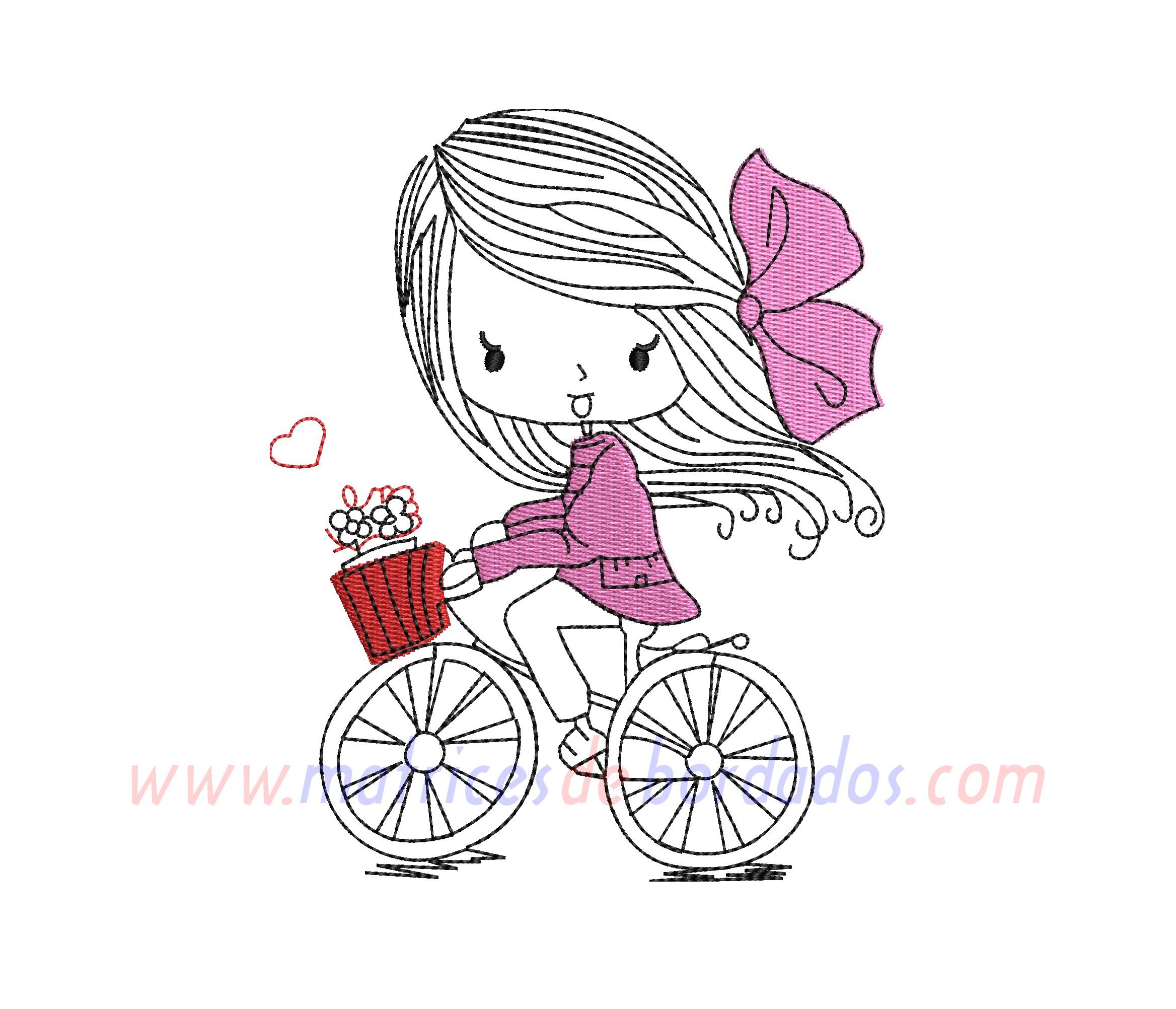 LA17GL - Martina en Bicicleta