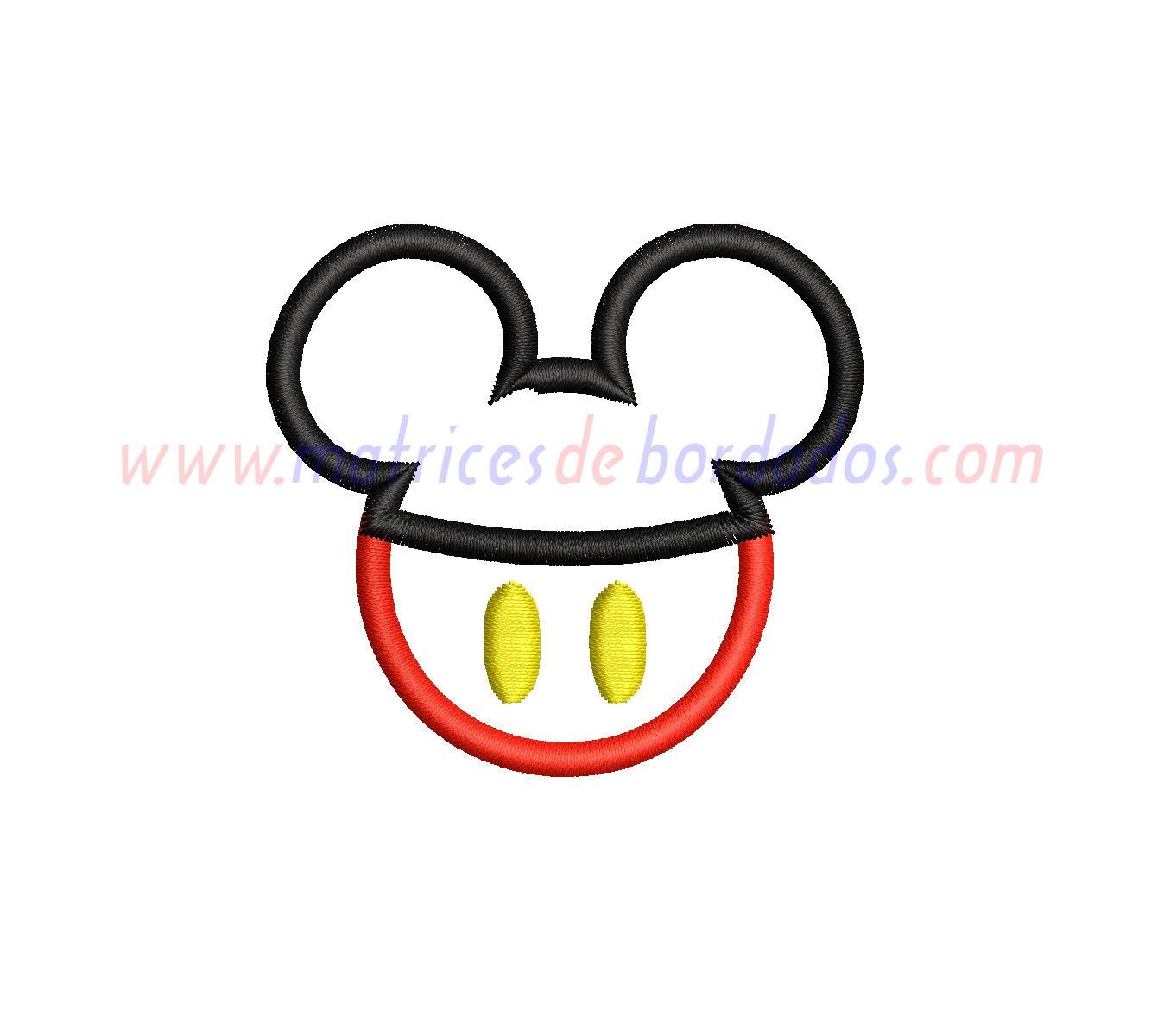 CY89NR - Mickey Apliqué
