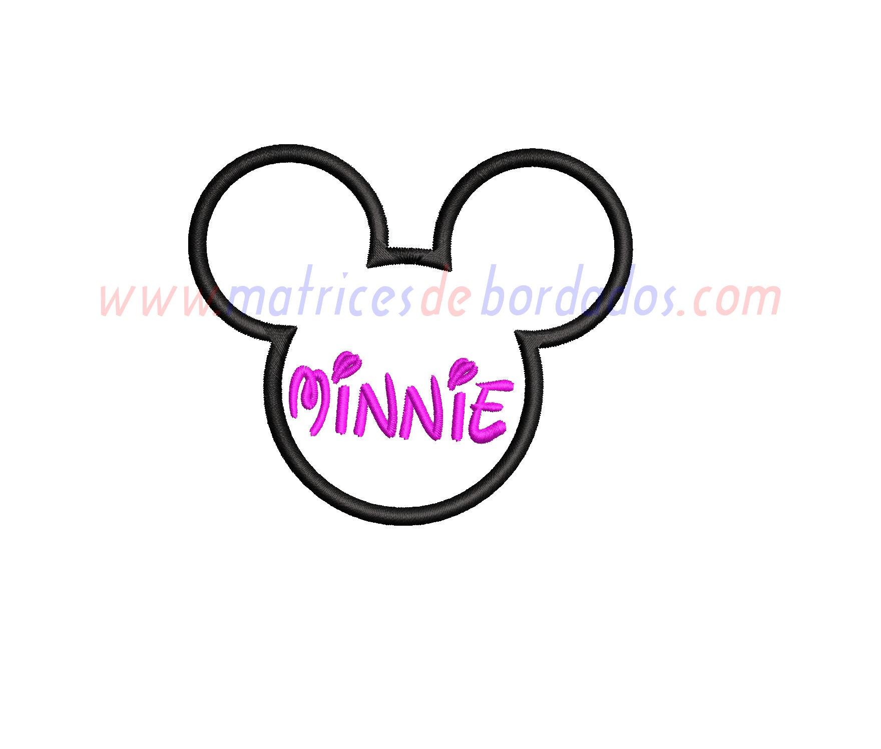 GC28AP - Minnie Apliqué