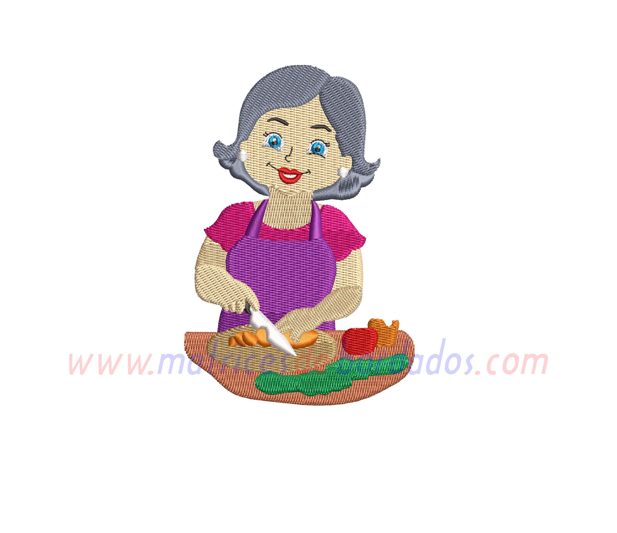 WR27QF- Abuela Cocinera
