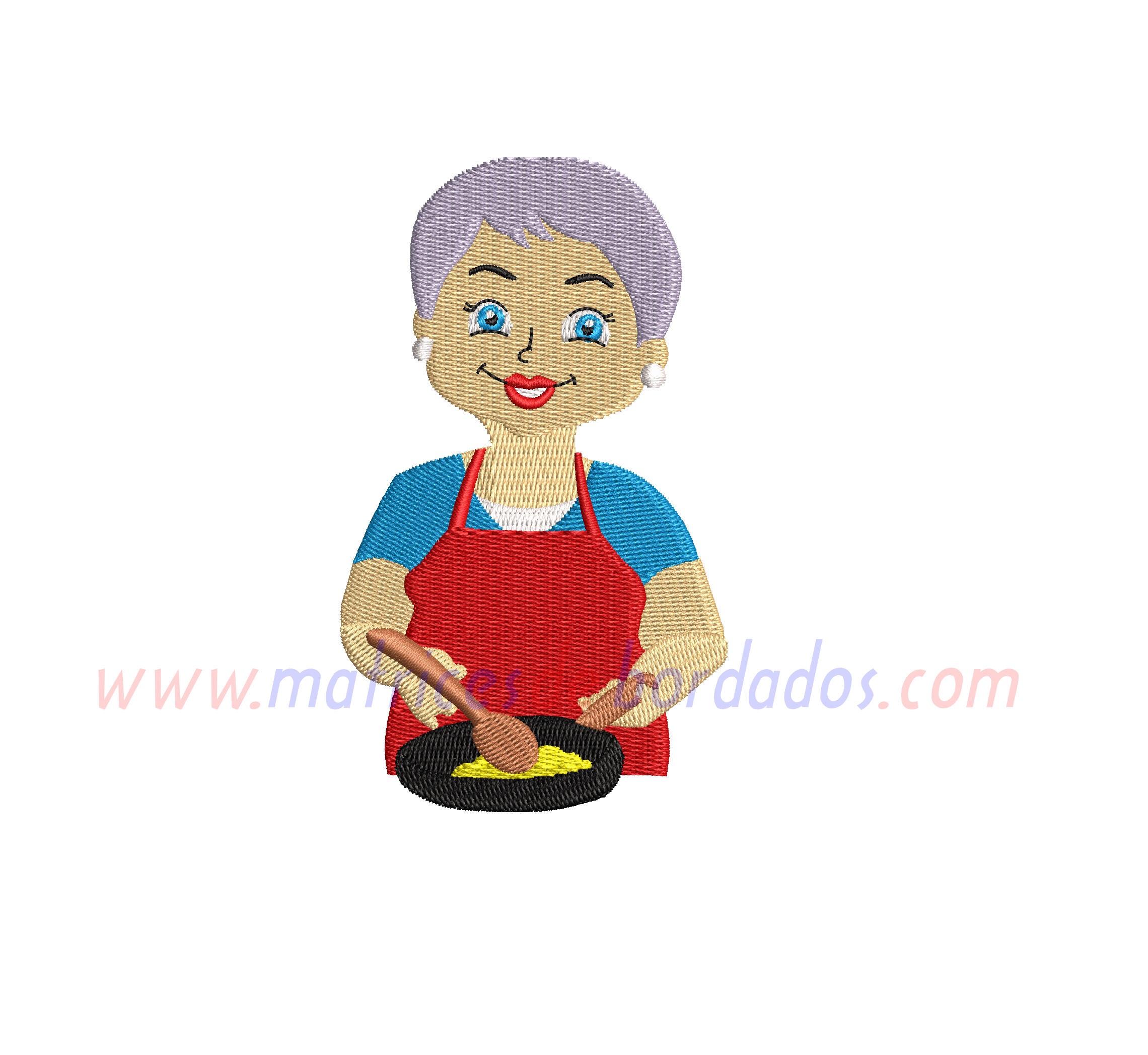 BN53RR - Abuela Cocinera