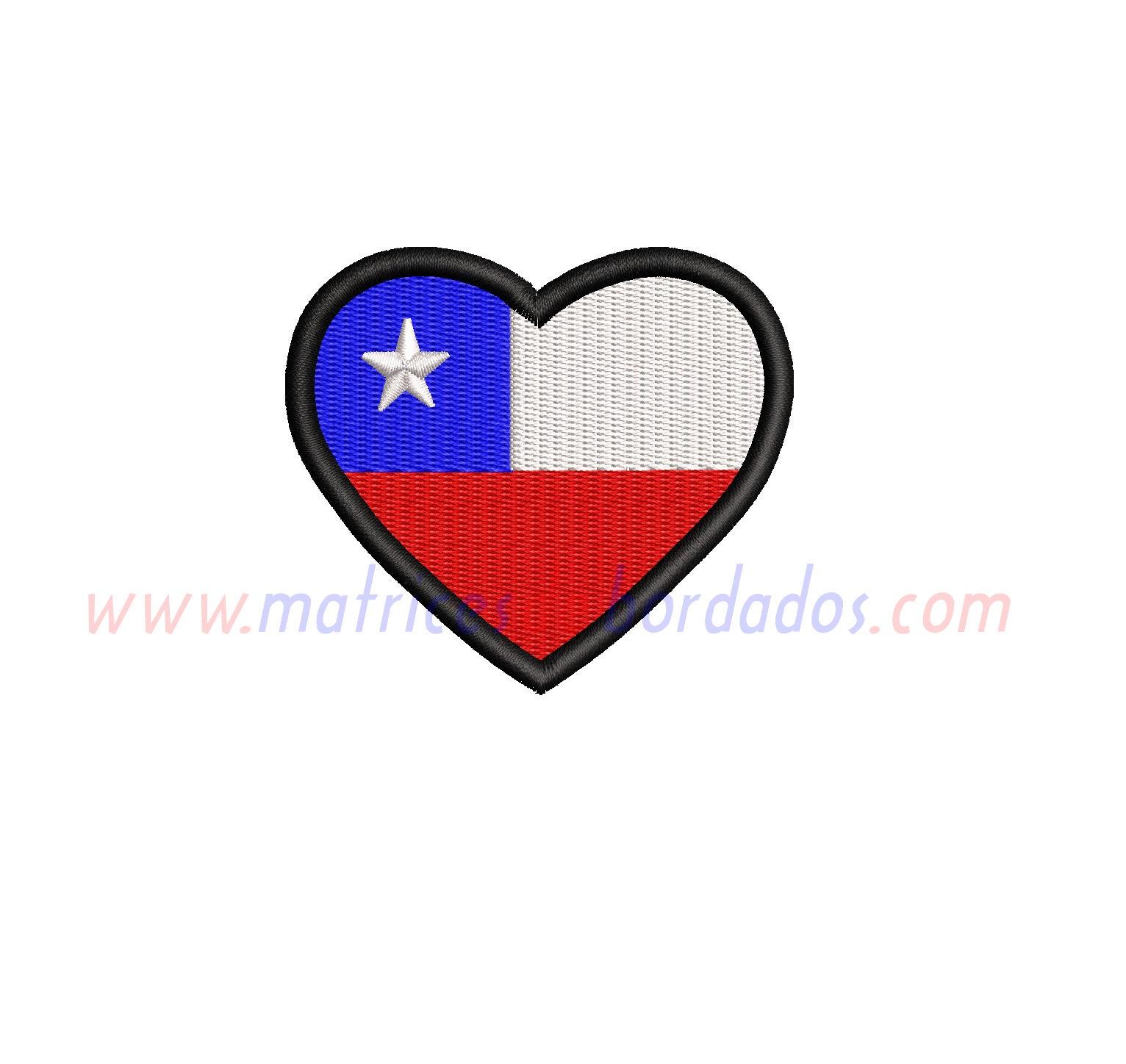 QX24FJ - Chile Corazón