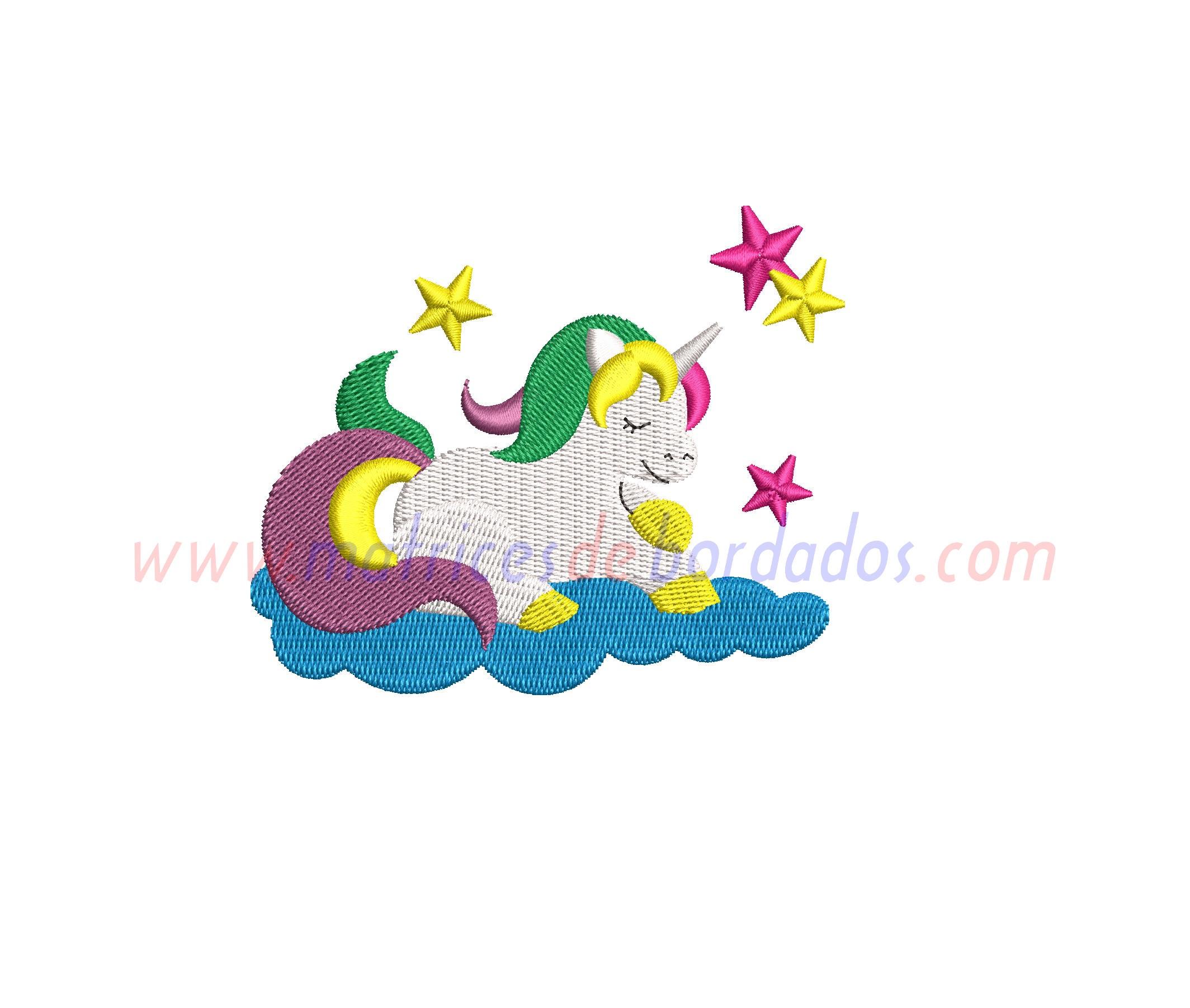 KK82CX - Unicornio en nubes