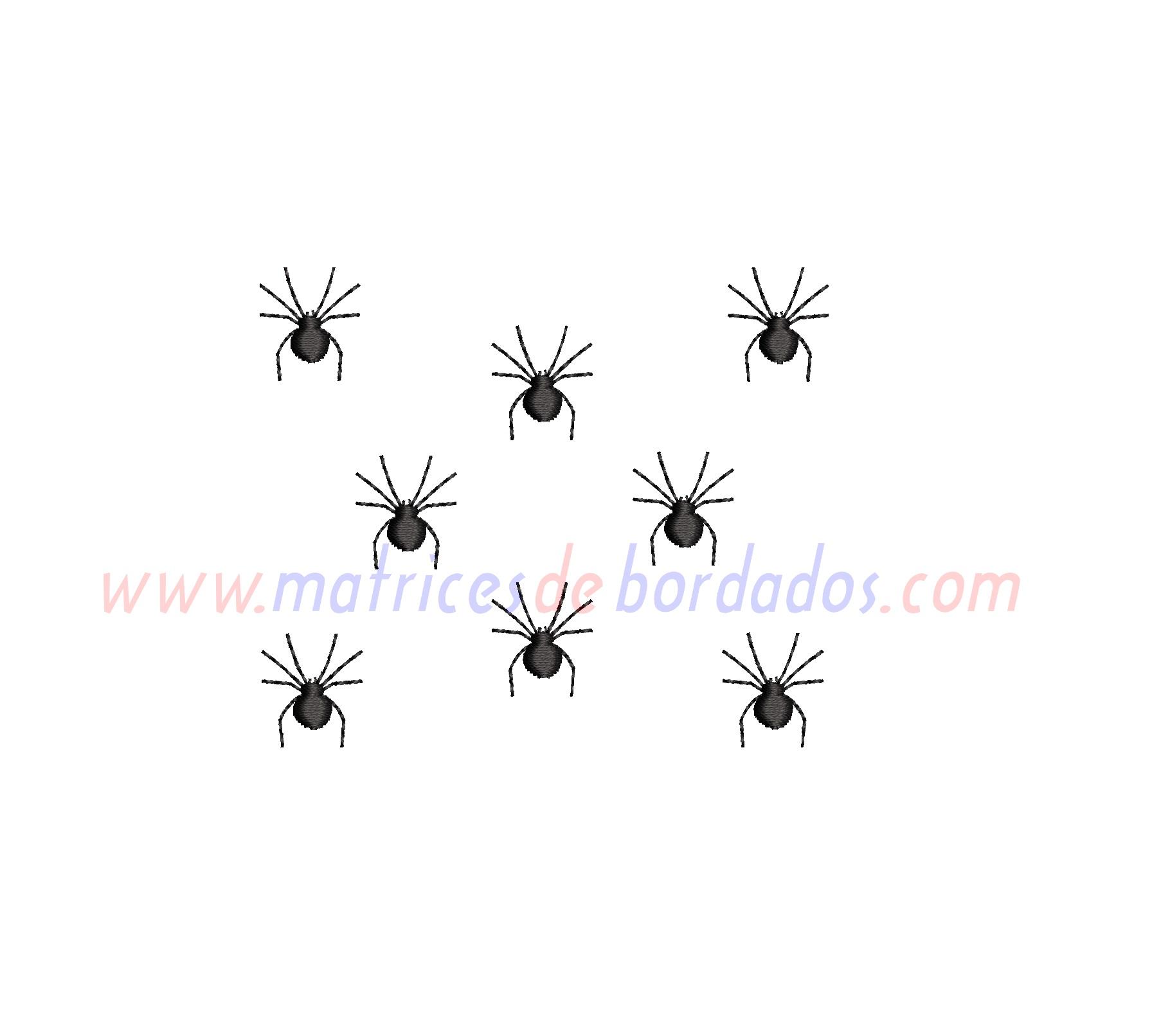 AP71JK - 8 arañas