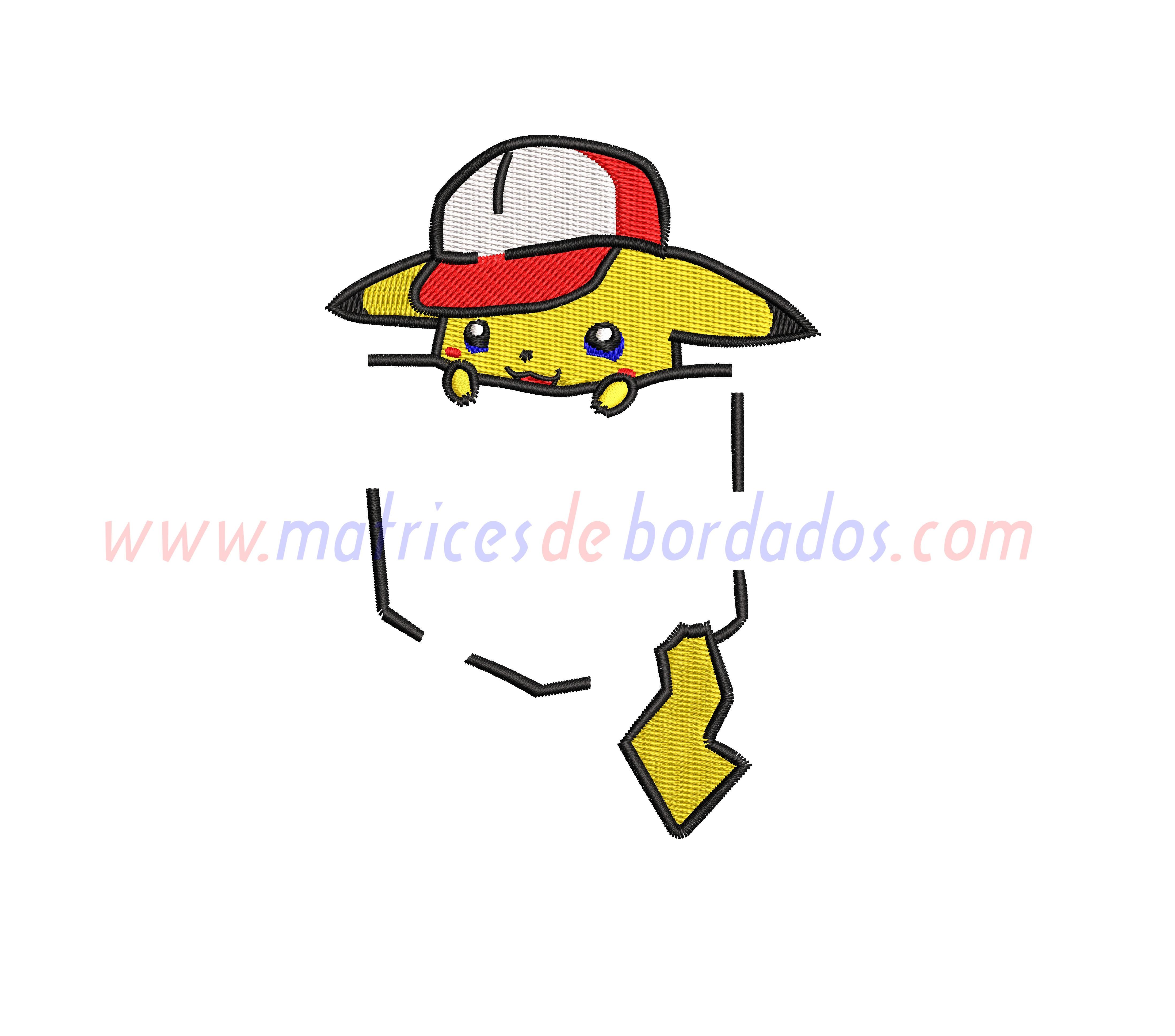FZ49GT - Bolsillo Pikachu