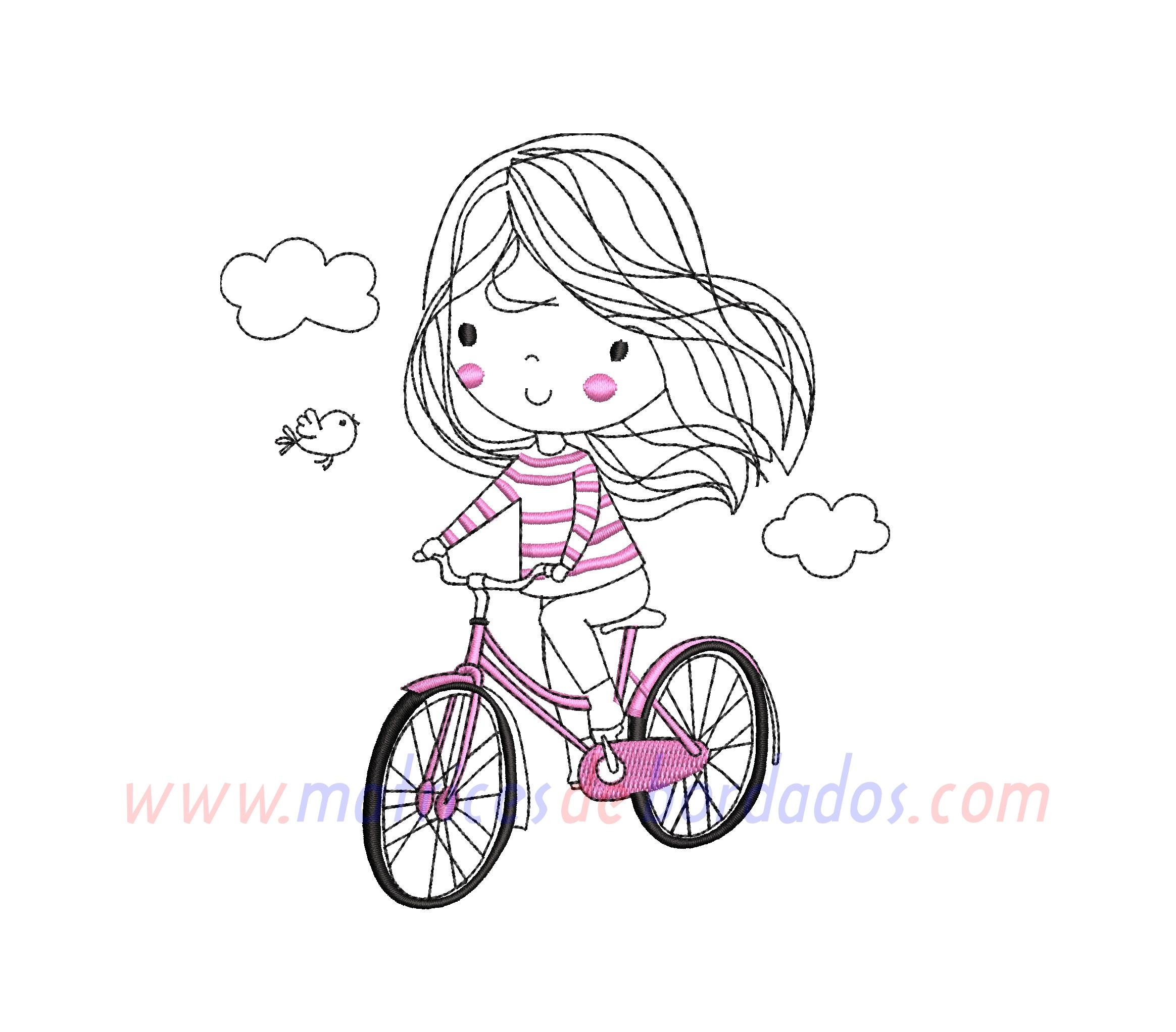 KL52RB - Martina en Bicicleta