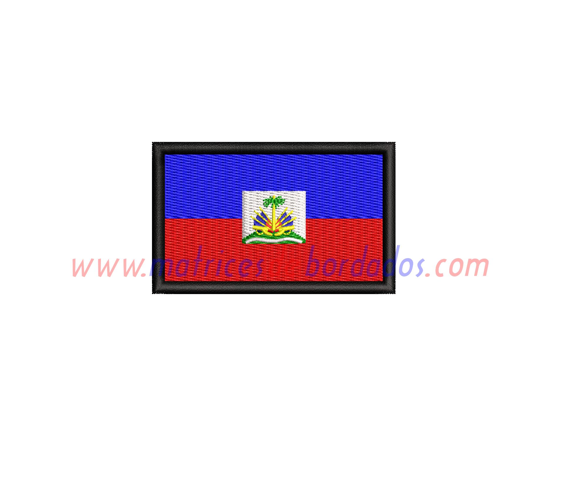 DM54UD - Bandera de Haití