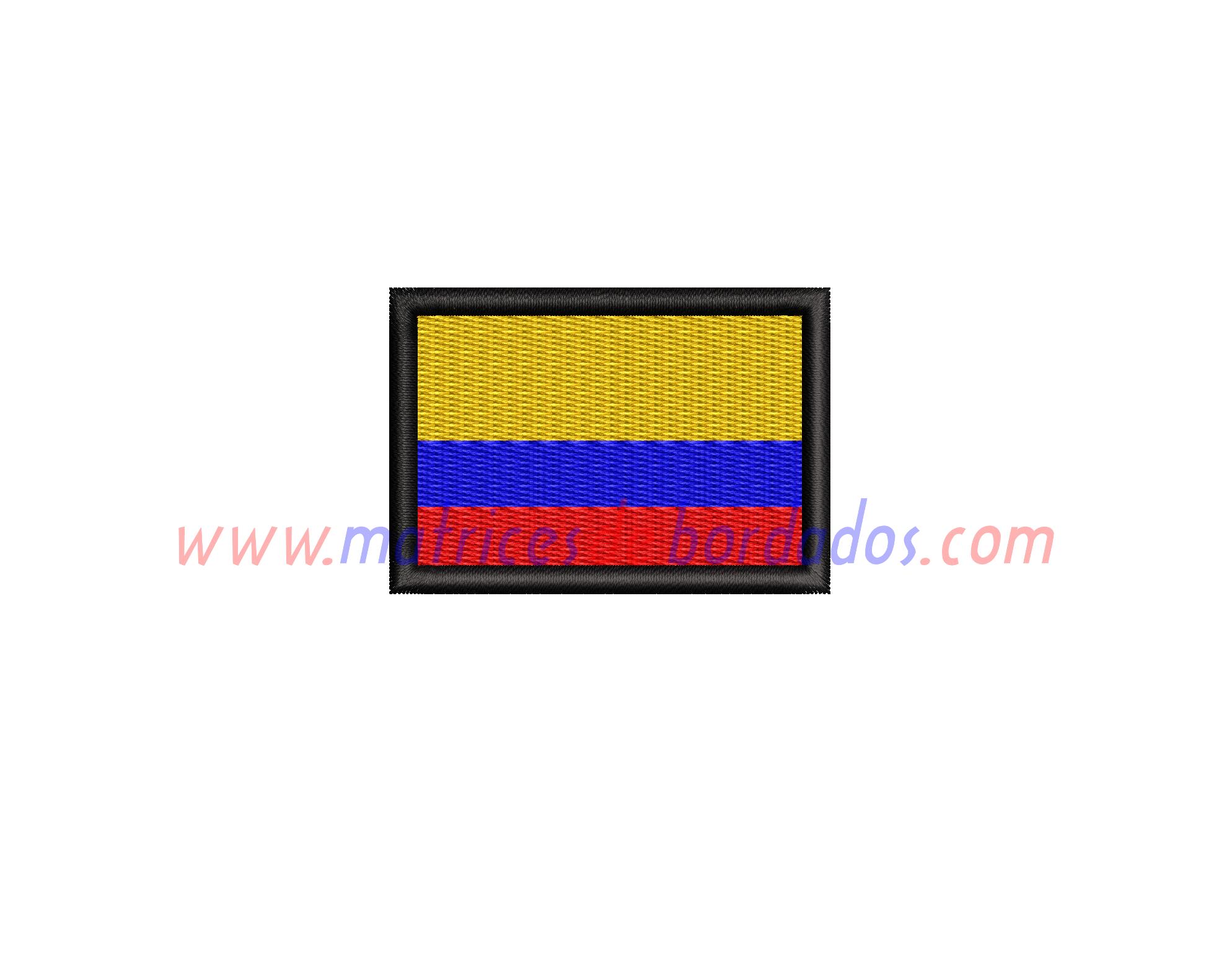 BC89MX - Bandera de Colombia