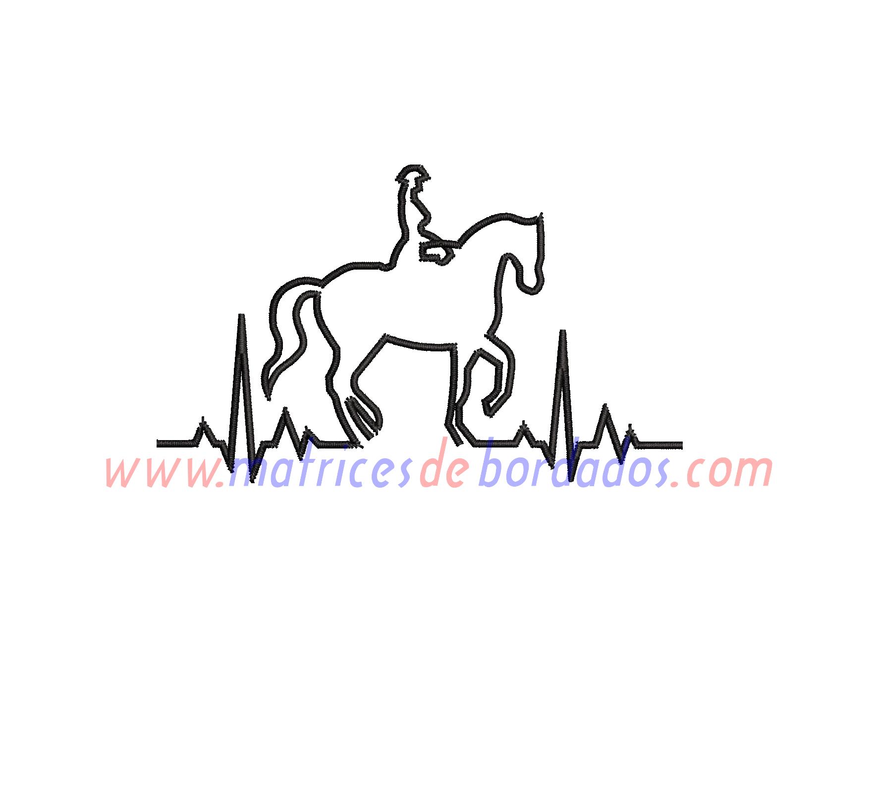 QV18YY - Montando a caballo