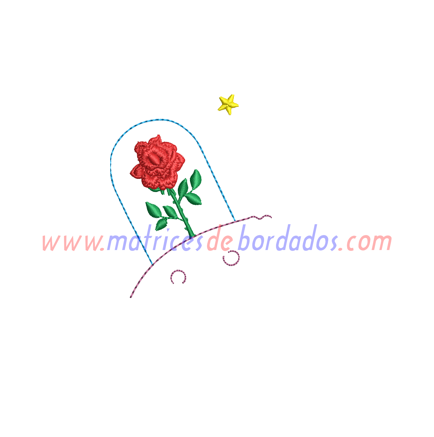 XK54UW - Rosa El Principito