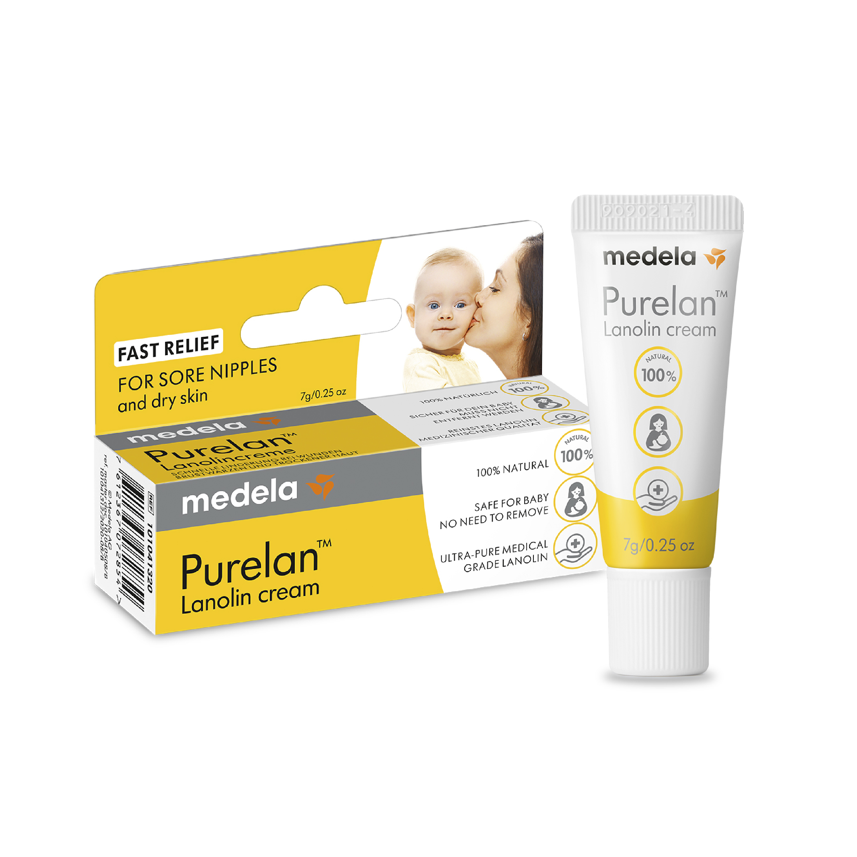 Crema de lanolina Purelan™ 7 grms