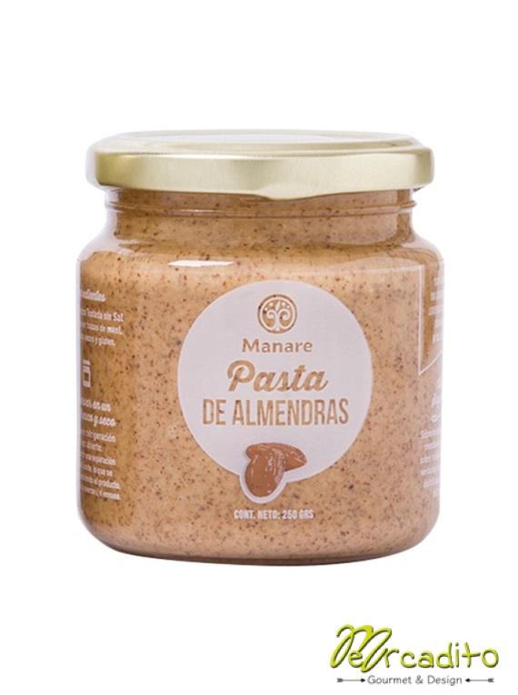 Mantequilla de almendras 200 Grs - Manare