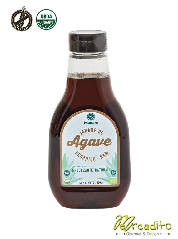 Jarabe de Agave orgánico RAW 330g - Manare